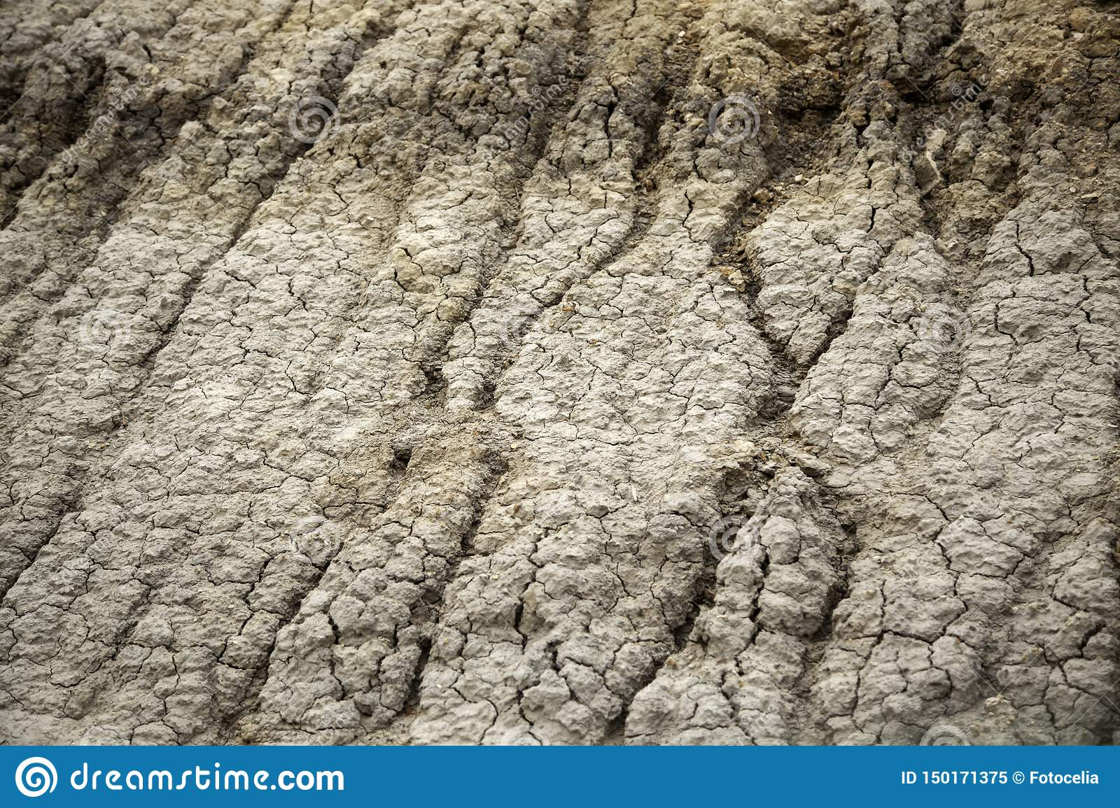 Eroded earth texture