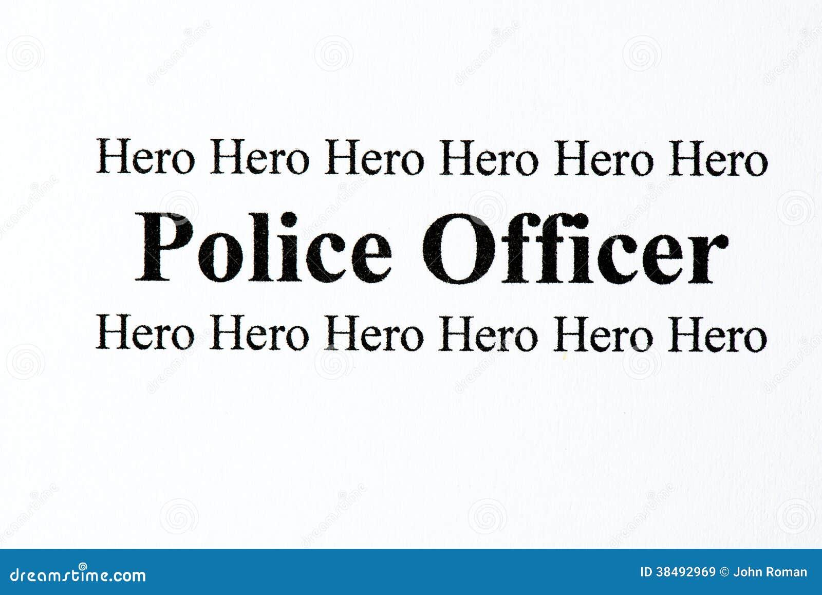 Eroe della polizia