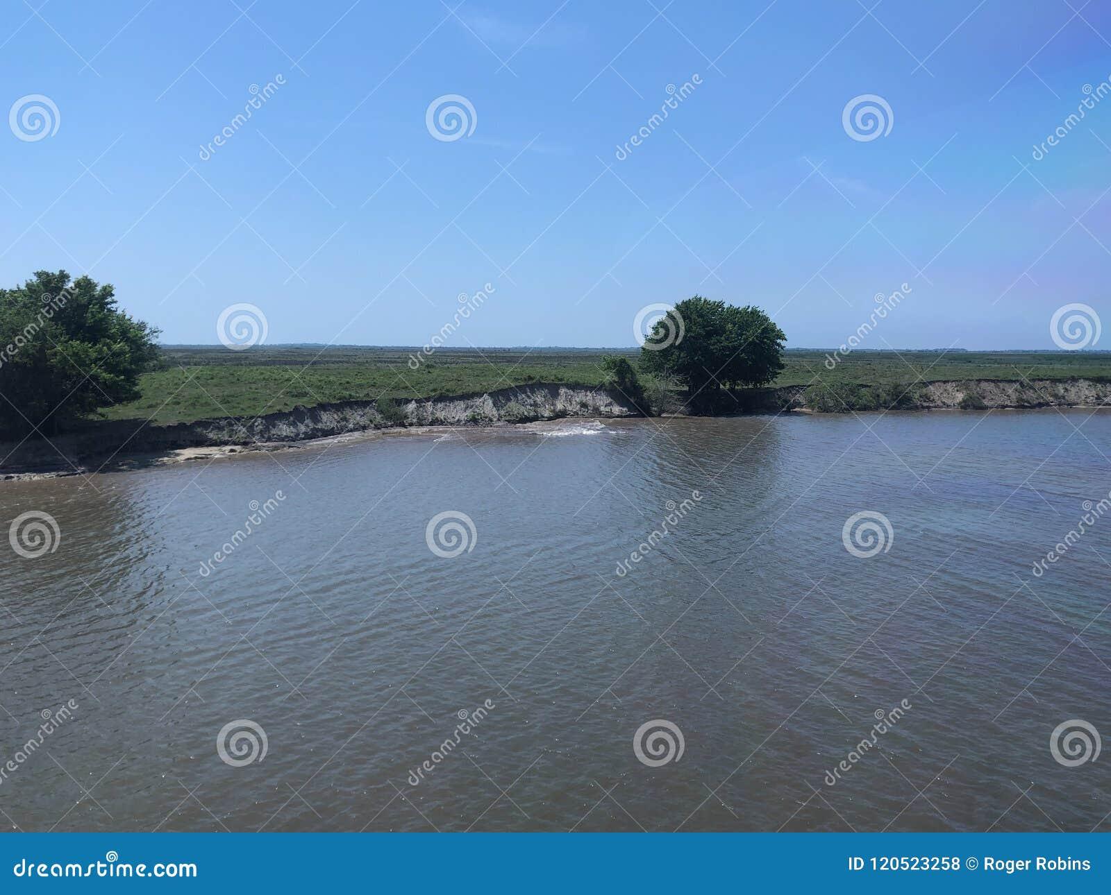 Erosion på GIWW