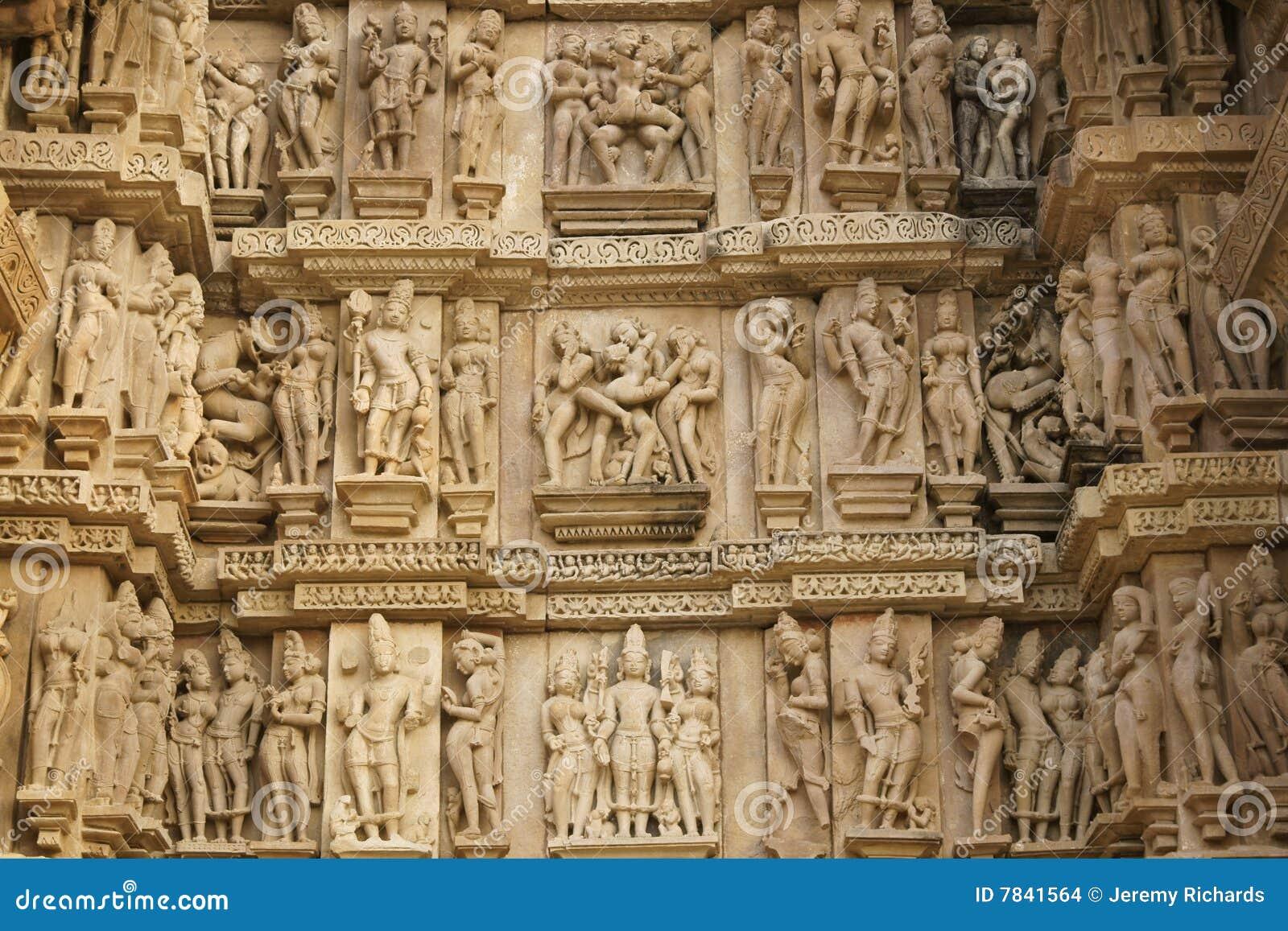 Erotic Hindu Temple Stock Images - Image 7841564-2866
