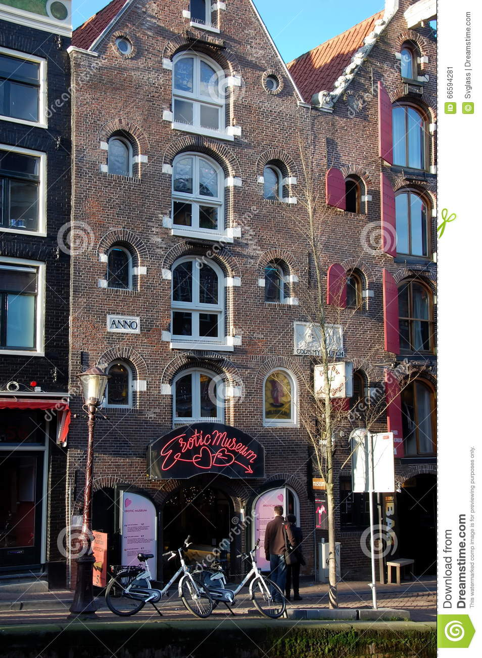 With Amsterdam tour erotic