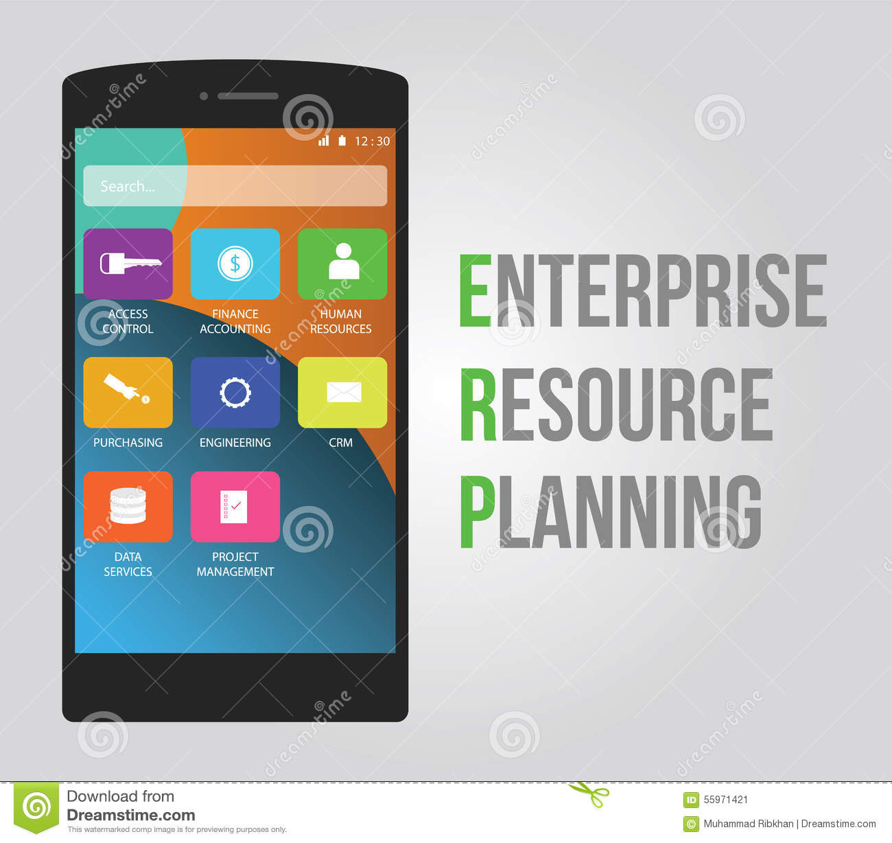 Erp - enterprise resource planning to increase productivity and ...