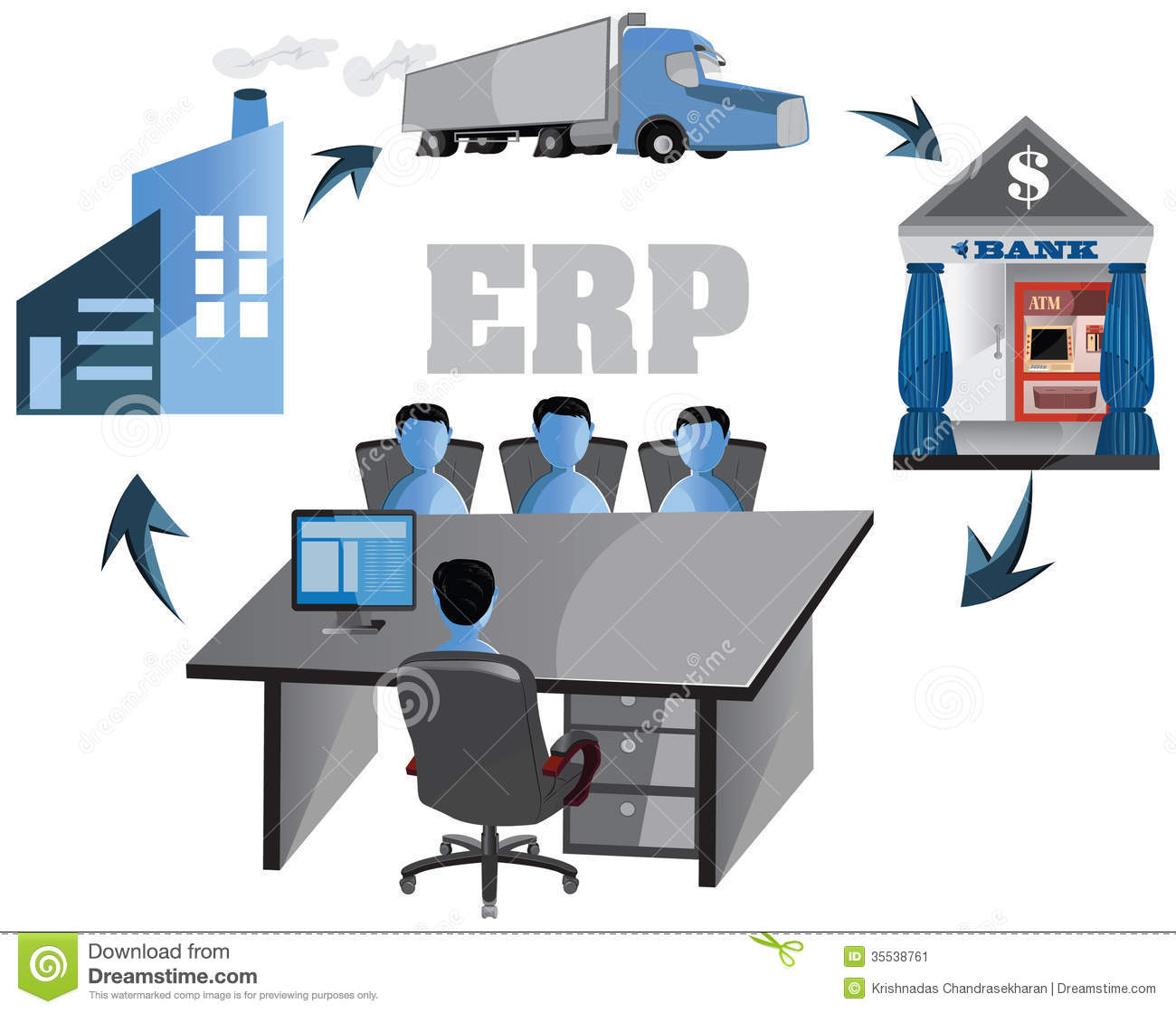 Erp Cartoons Illustrations Amp Vector Stock Images 805