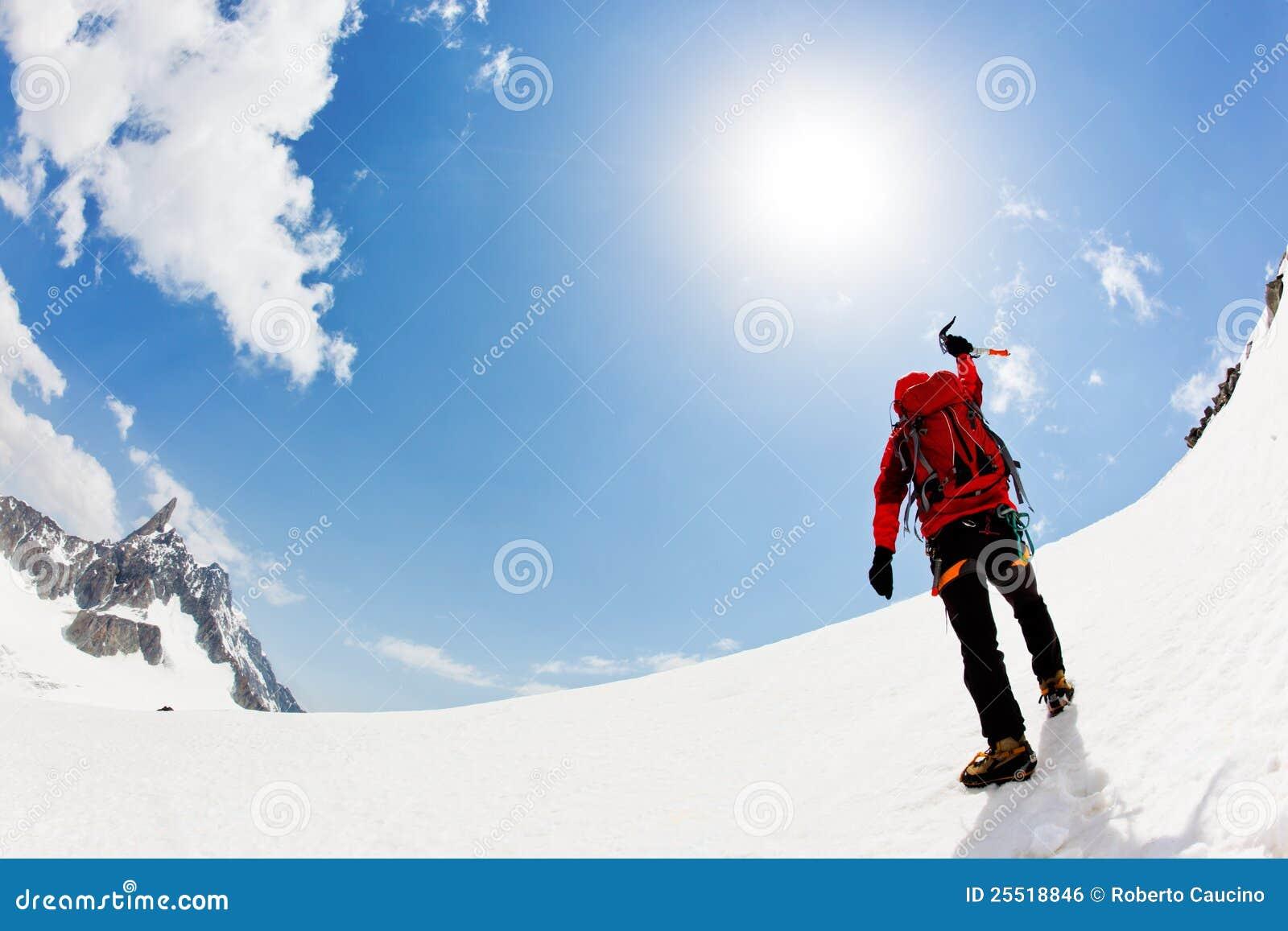 Erreichen des Gipfels