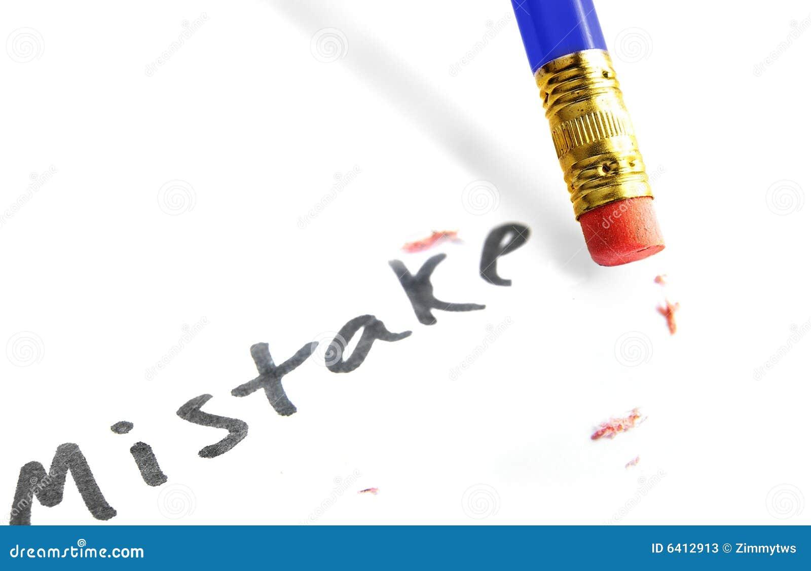 Error Correction Stock Photos - Image: 6412913