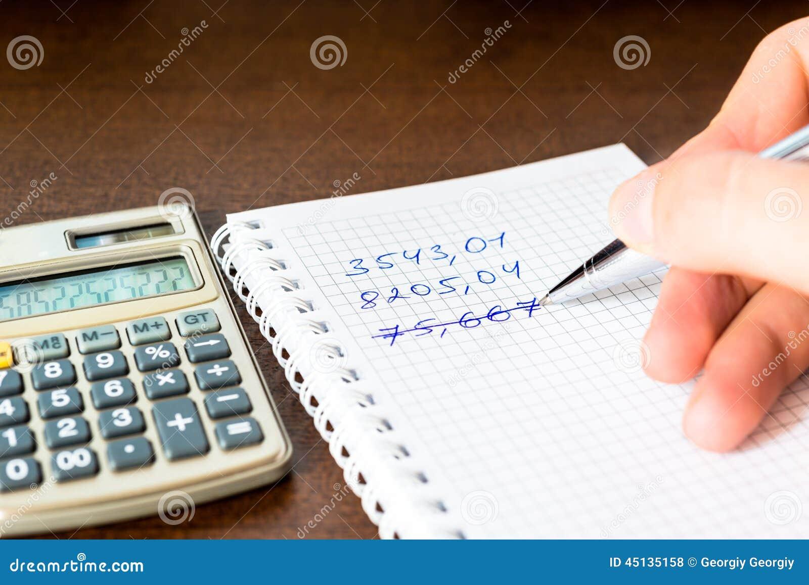 Errore nei calcoli