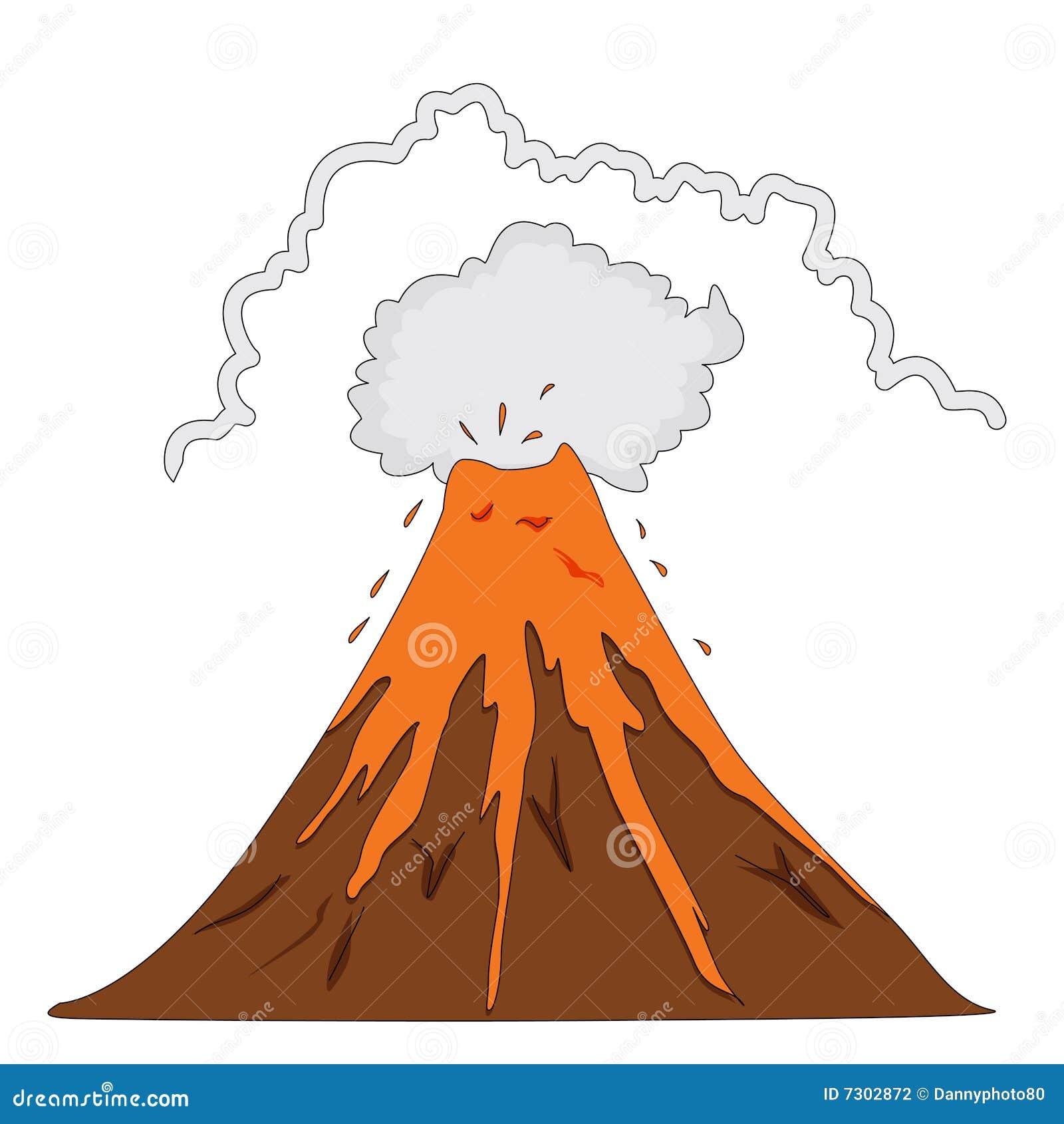 Erruption del vulcano