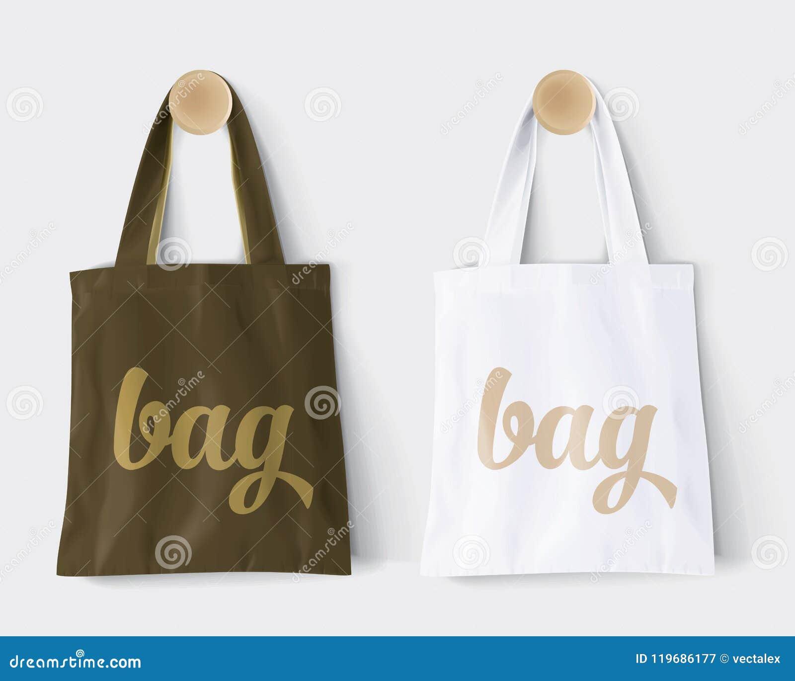 Ersetzt ` Tasche ` mit Absicht und Änderungsfarbemodell-Baumwollpapiertüte-Schild-Shop