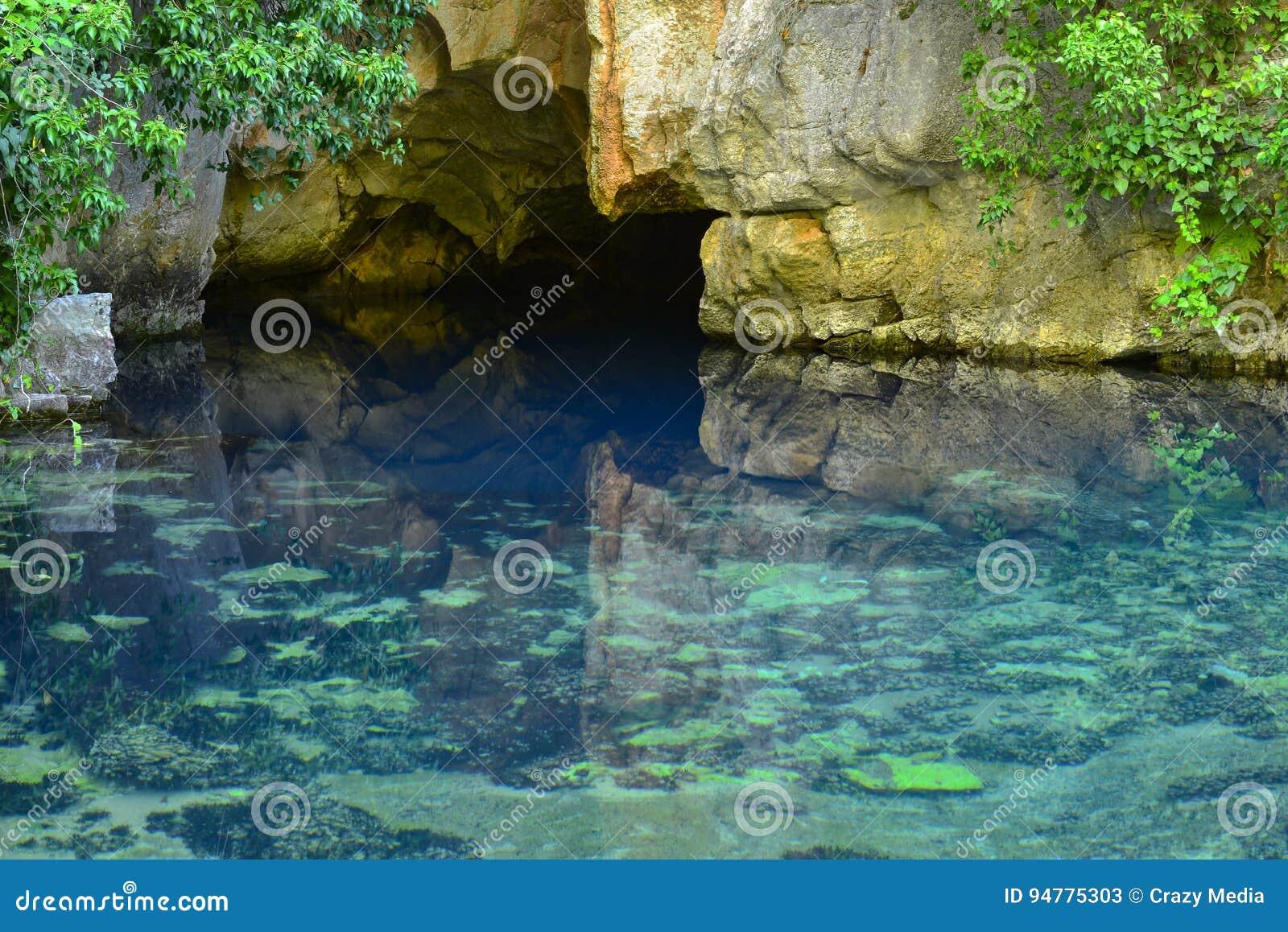 Erste Quelle des Wassers