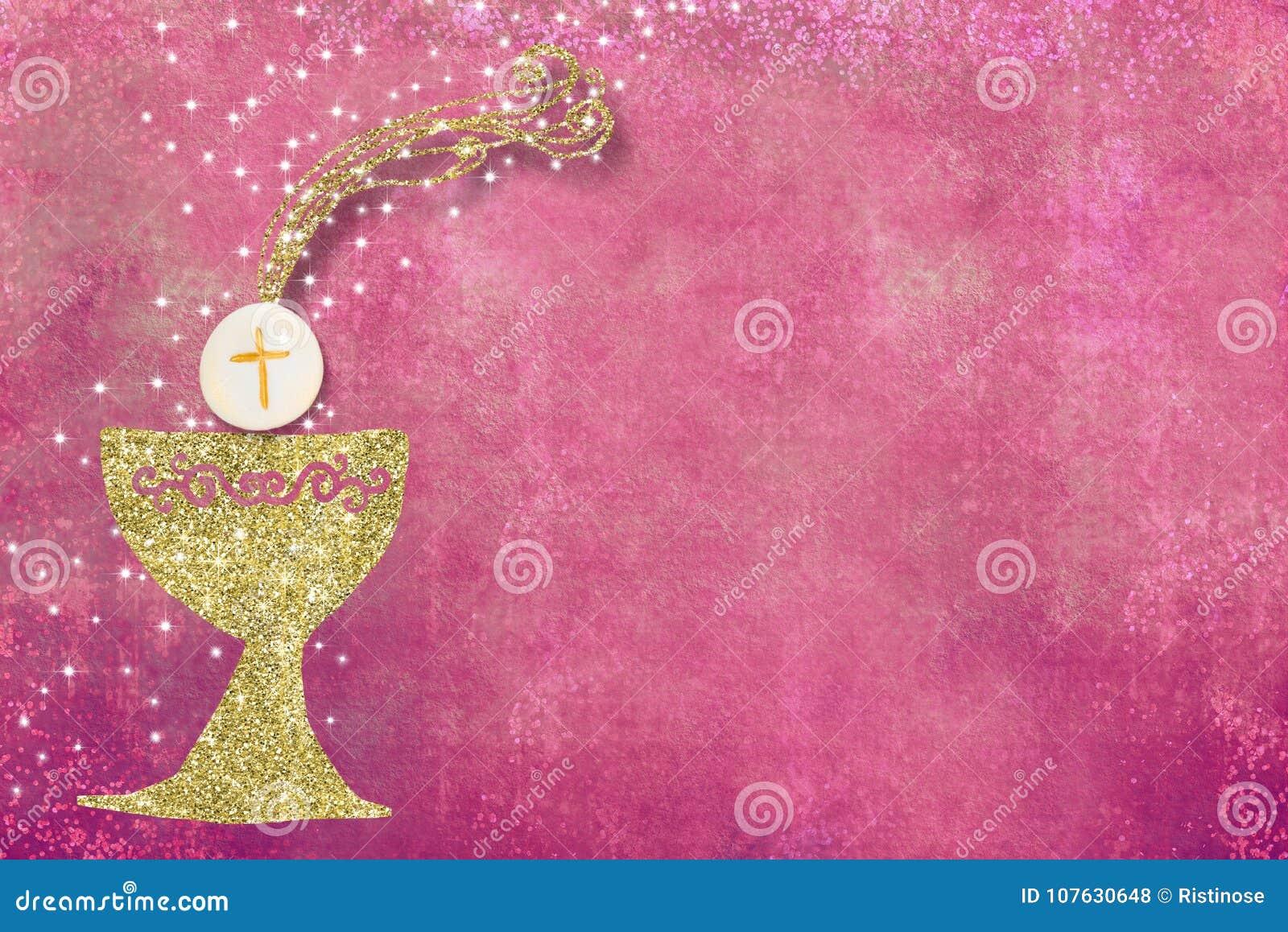 Erster Einladungshintergrund der heiligen Kommunion