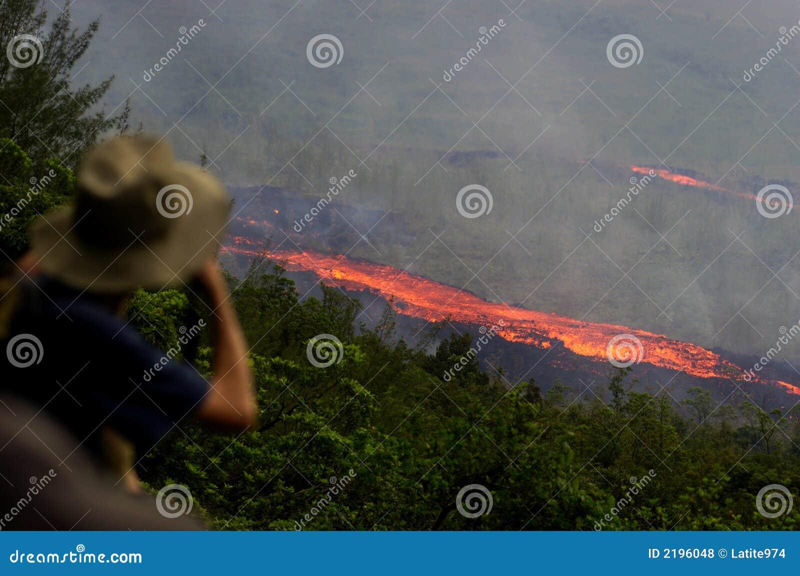 Erupção em Reunion Island 5
