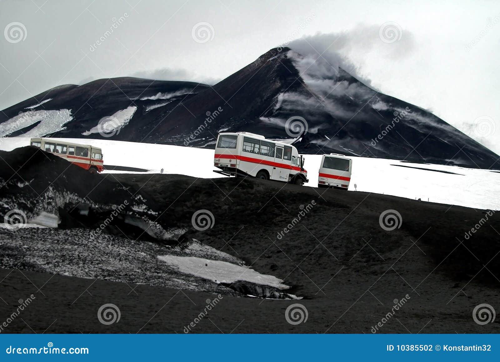 Eruption Mount Etna