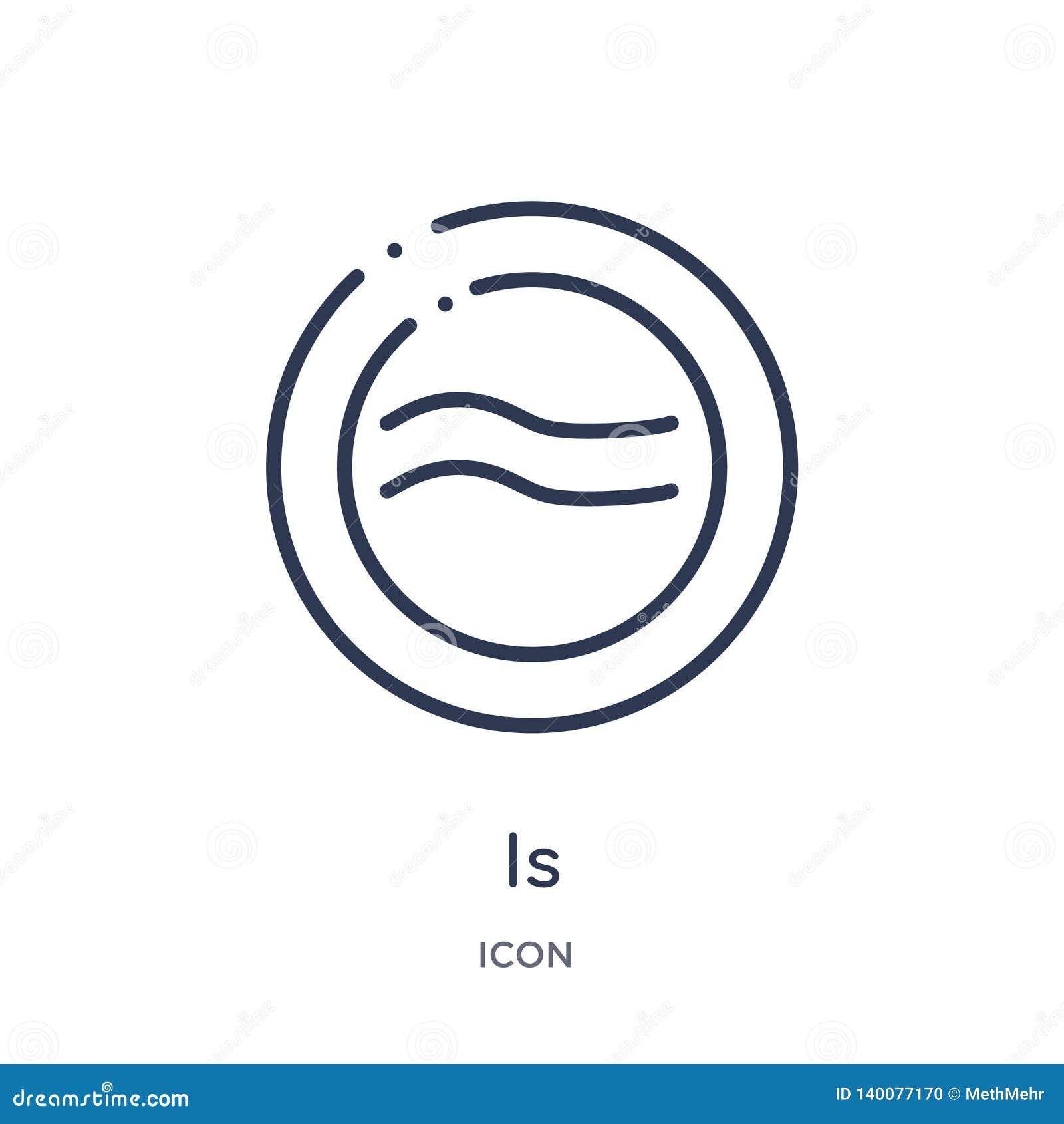 Es aproximadamente igual al icono de formas y de la colección del esquema de los símbolos La línea fina es aproximadamente igual