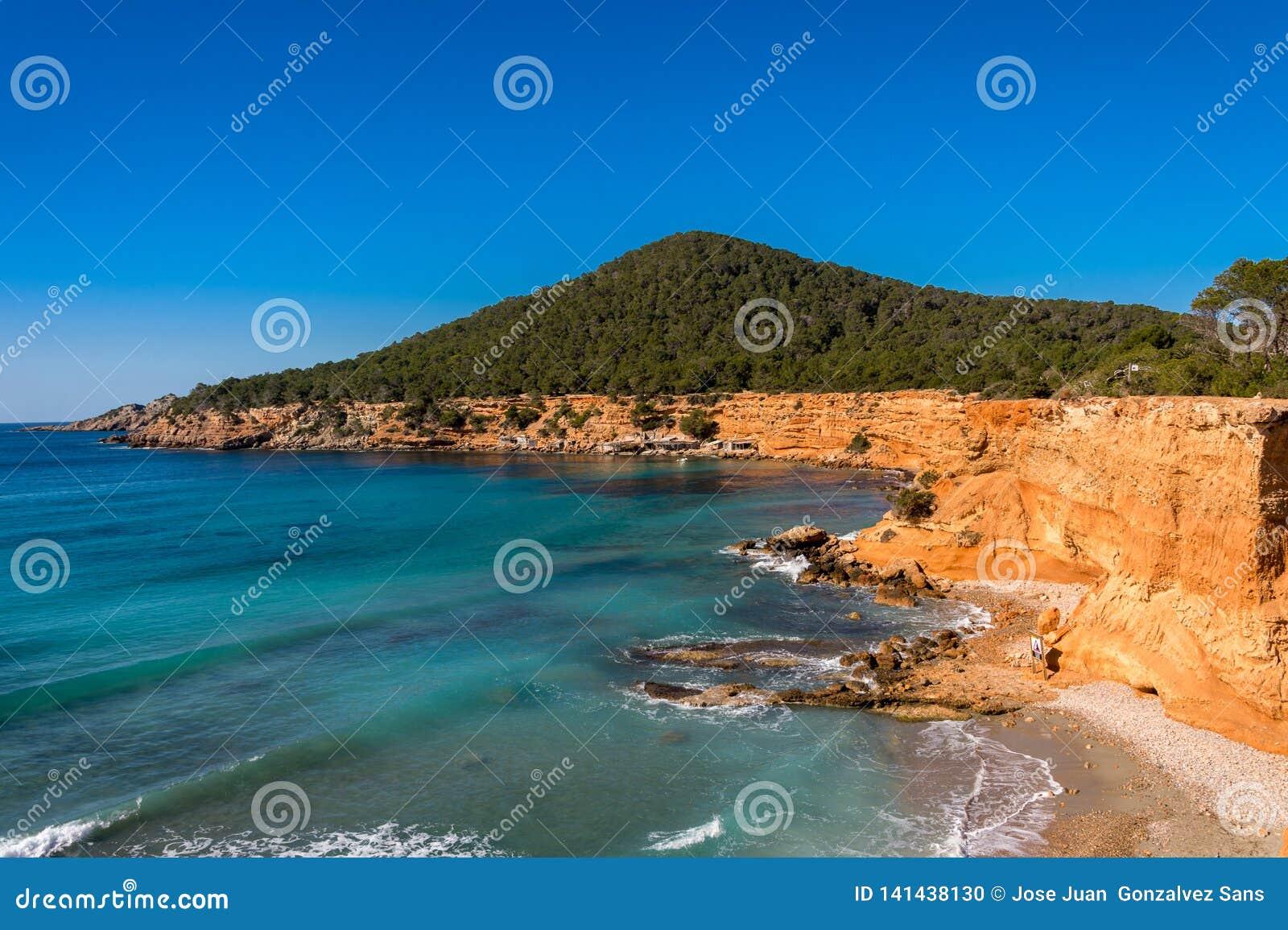 Es Bol Nou Ibiza Spain stock photo  Image of landscape