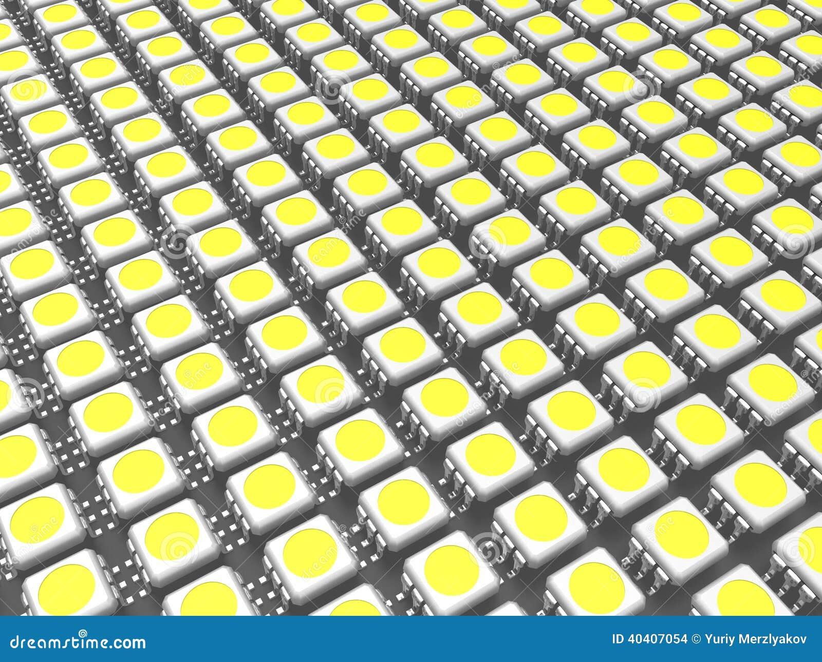 Es ist viel LED-Chip