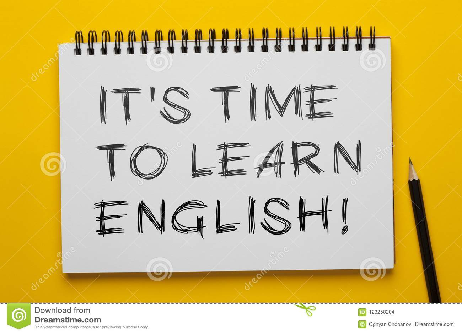 Es ` s Zeit, Englisch zu lernen