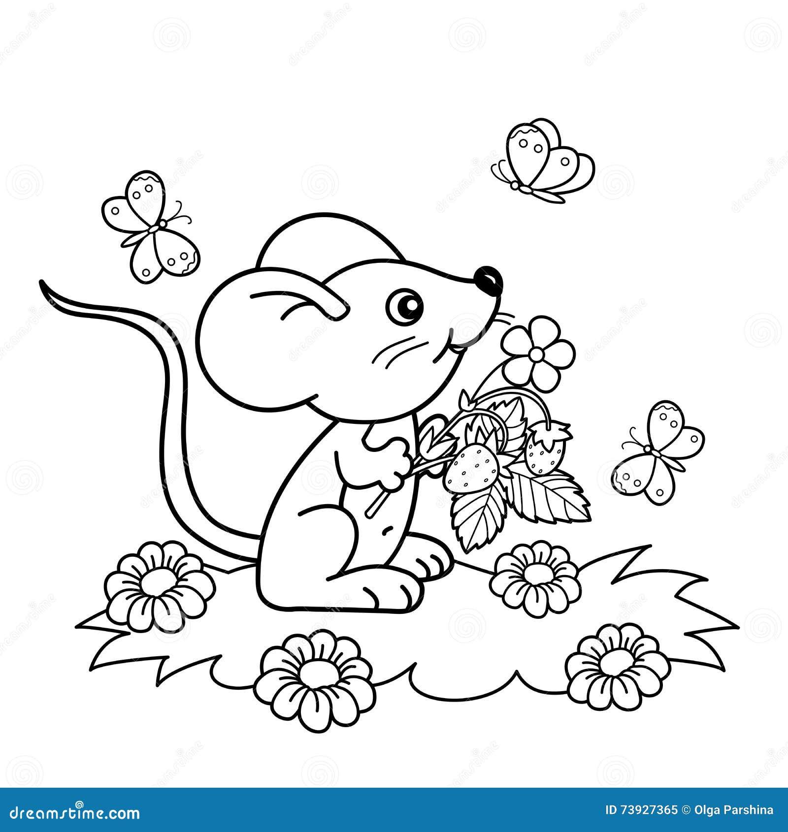livro para colorir da grama e dos desenhos animados das flores para