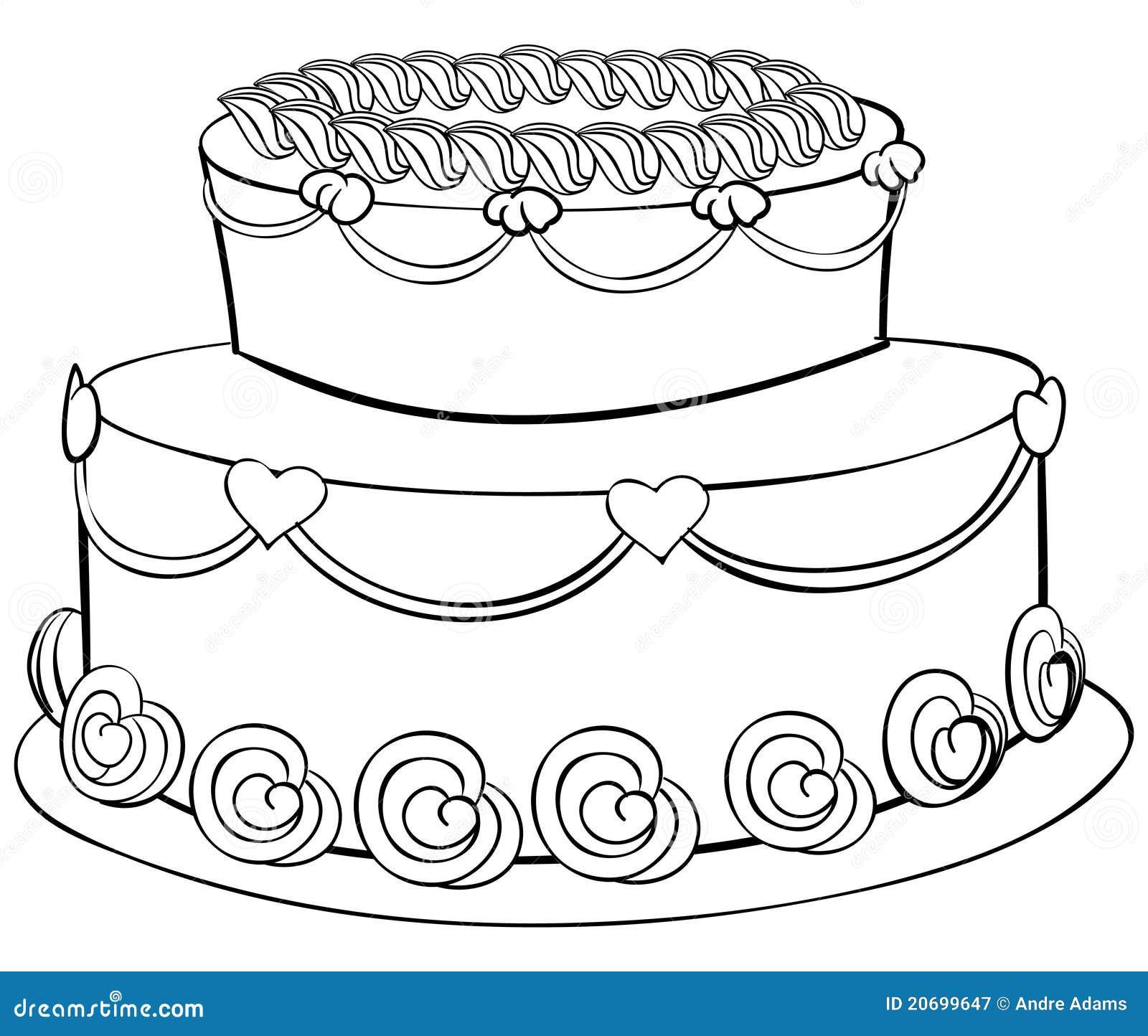 Esboço do bolo