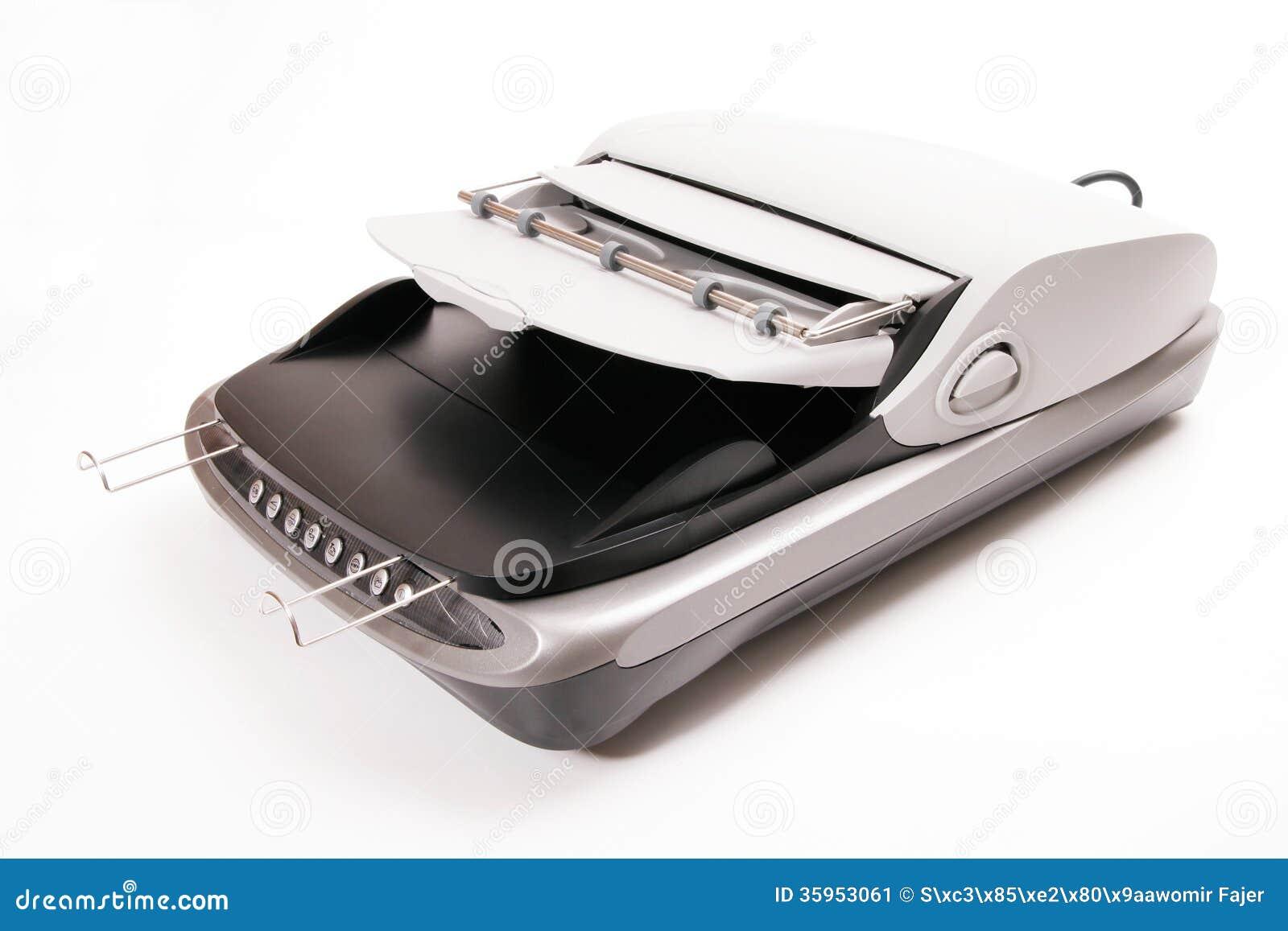 Escáner de la cama plana