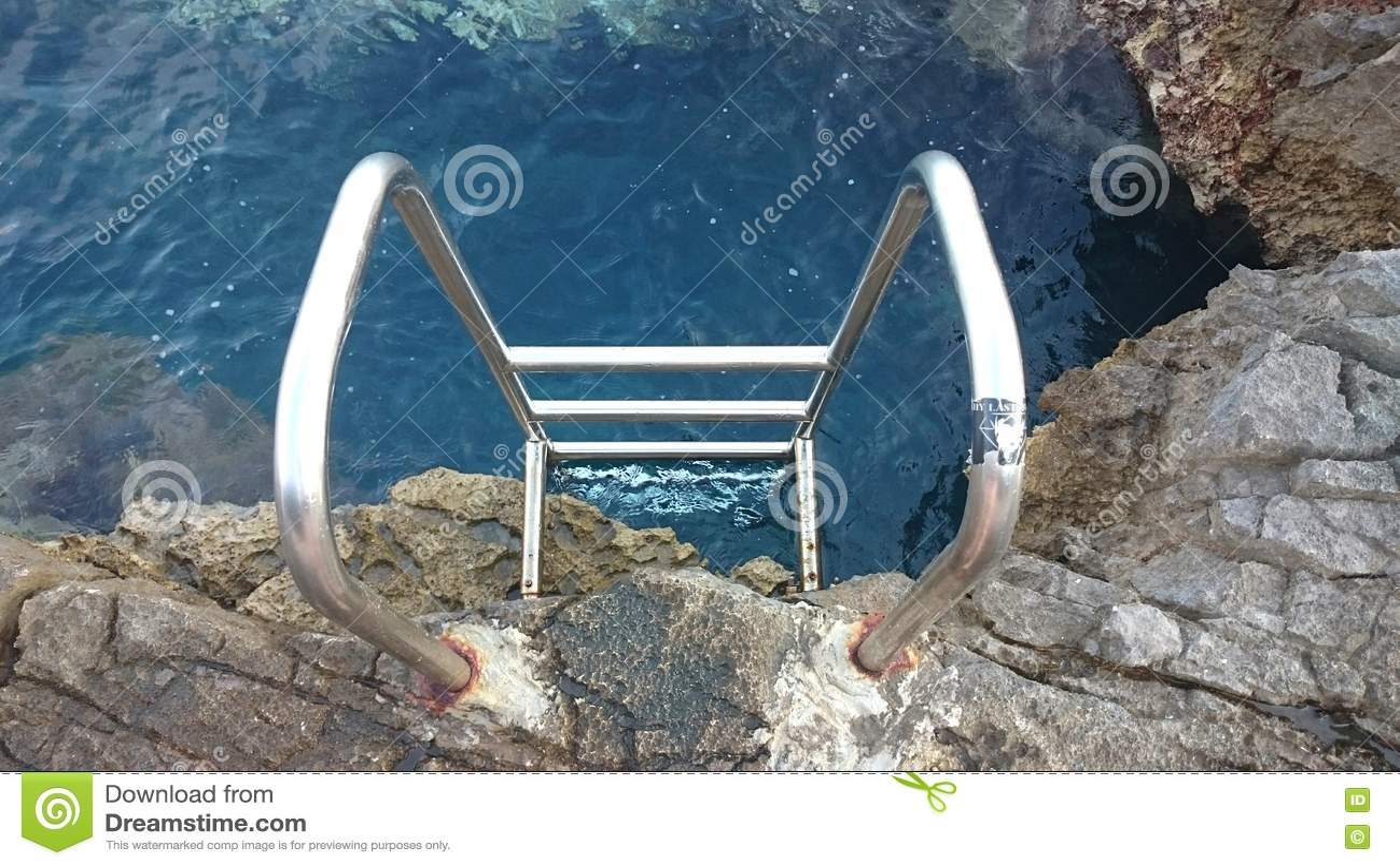 Escada ao mar
