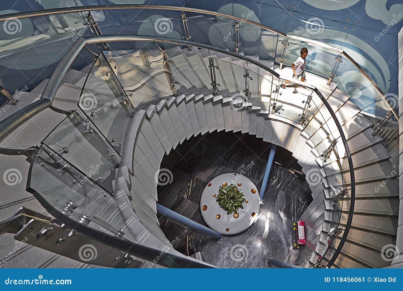 Escada da rotação