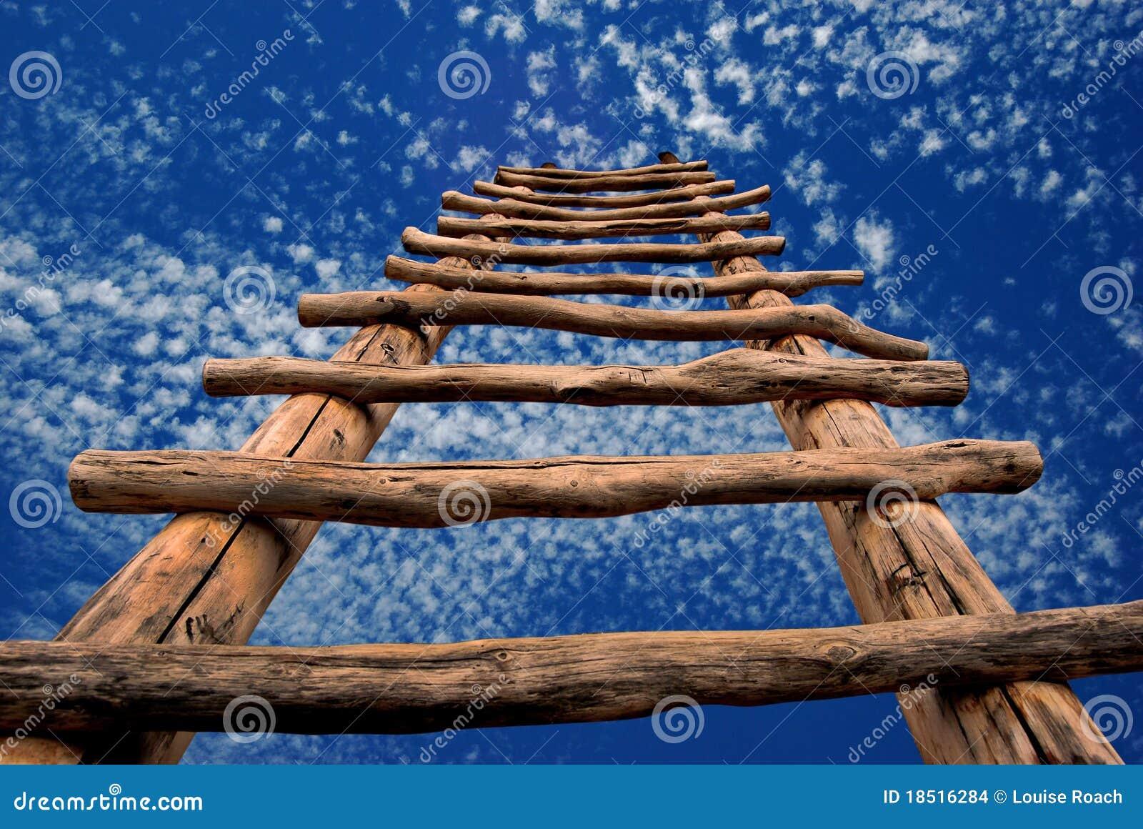 Escada de Kiva ao céu