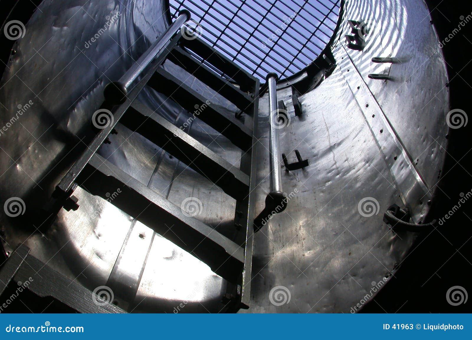 Escada submarina 1 Havaí