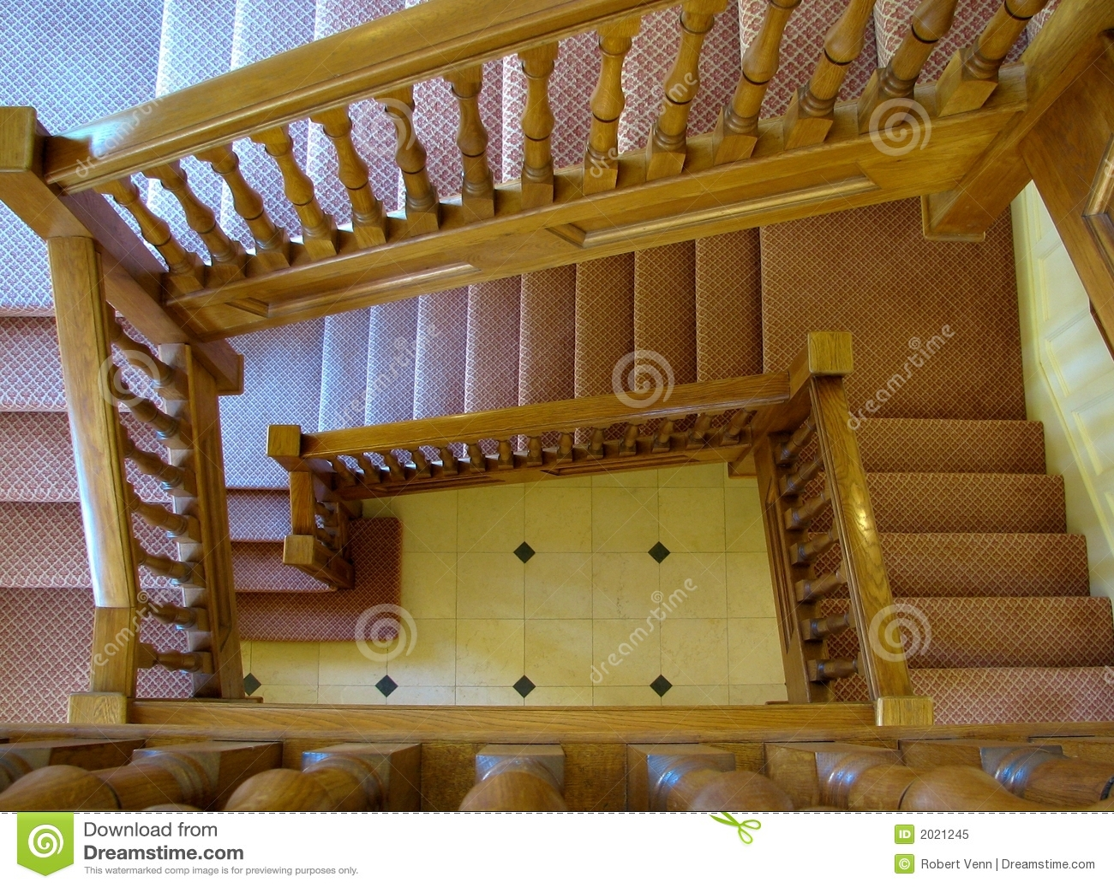Escadaria grande do carvalho