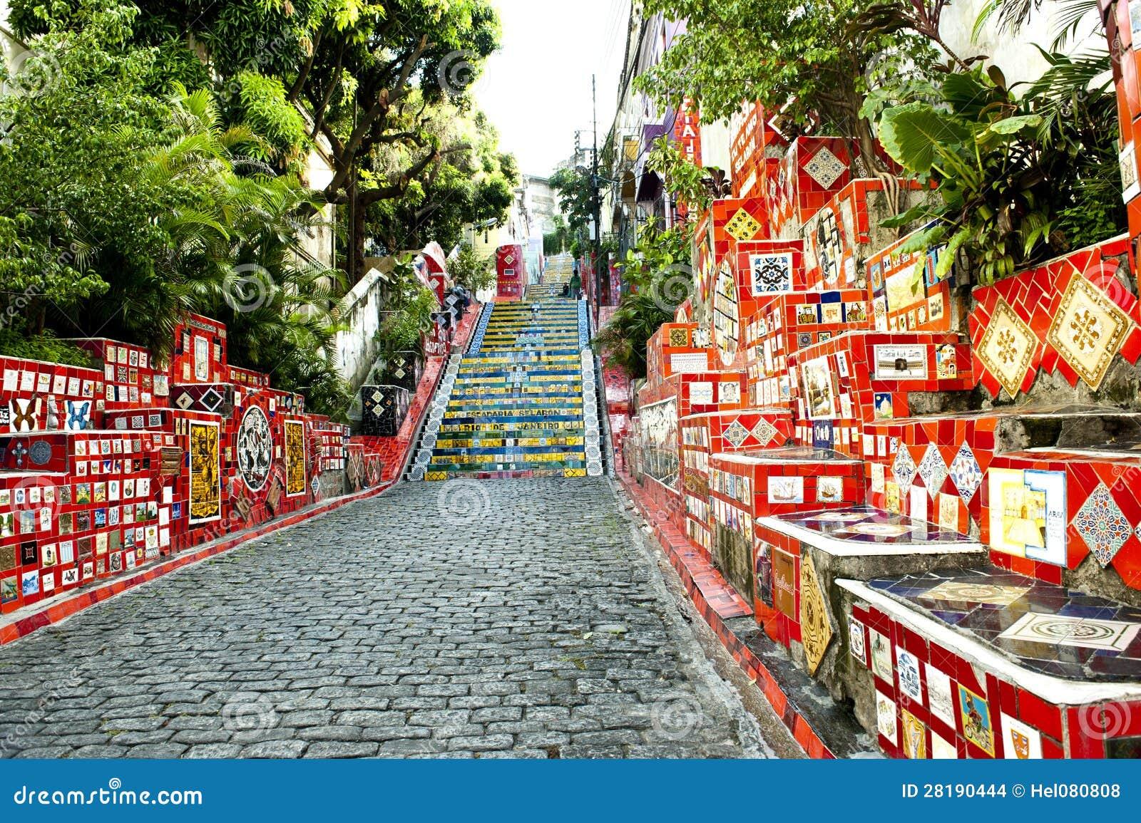 Stairway Selaron, Rio de Janeiro