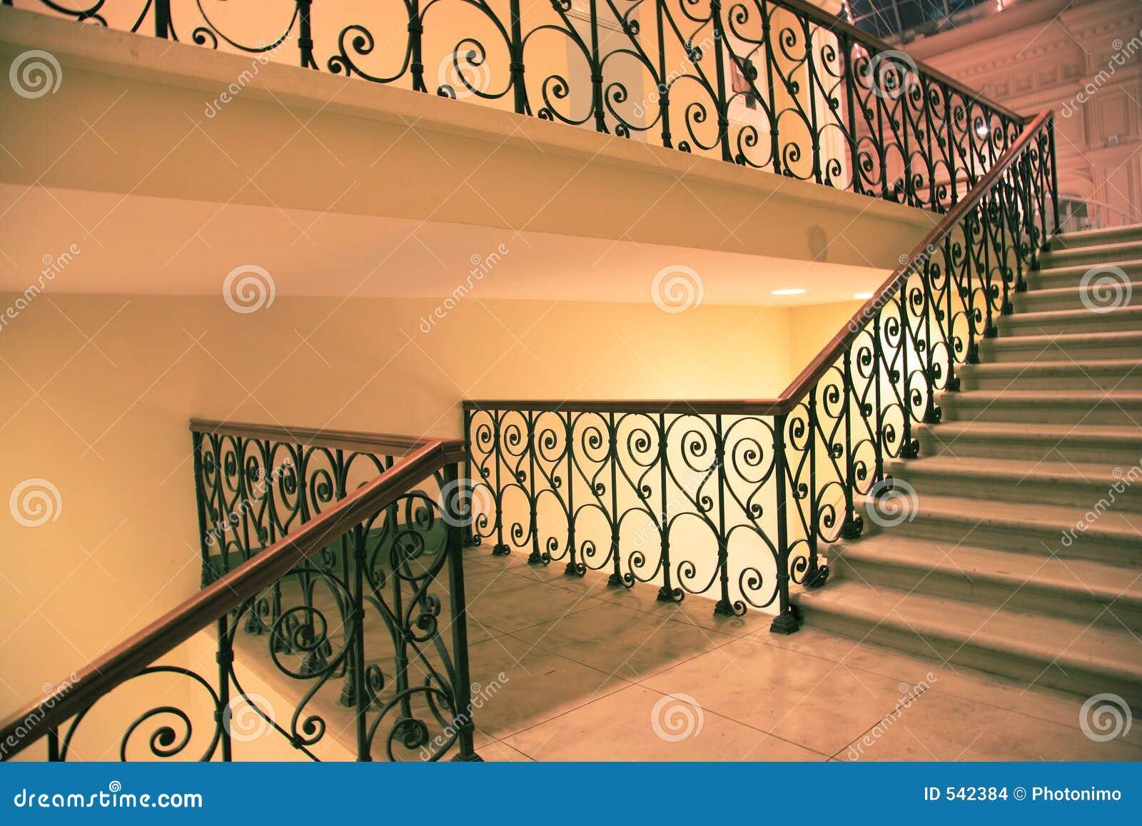 Escadas e sentido