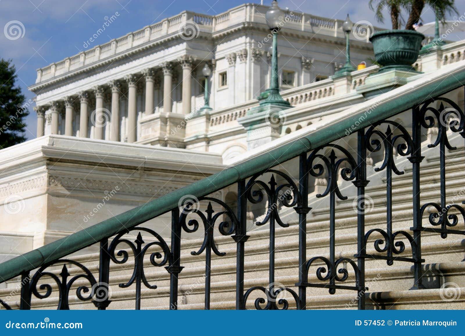 Escadas no Capitólio