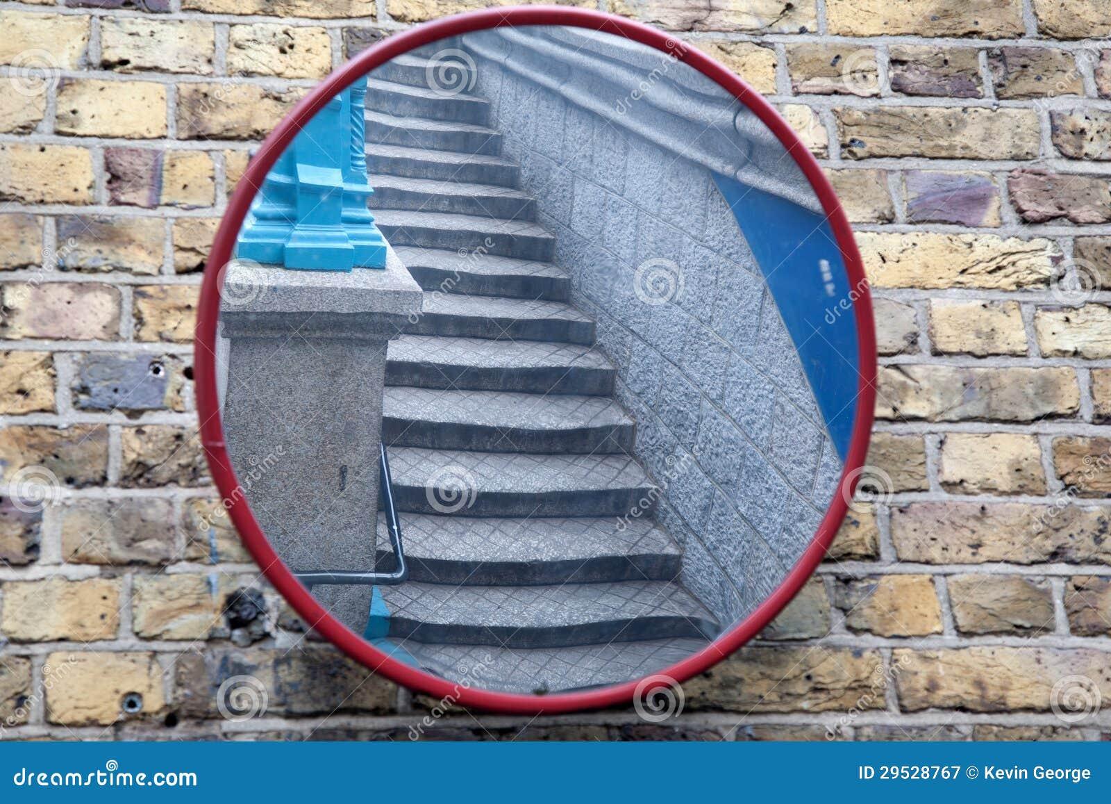 Escadas no espelho