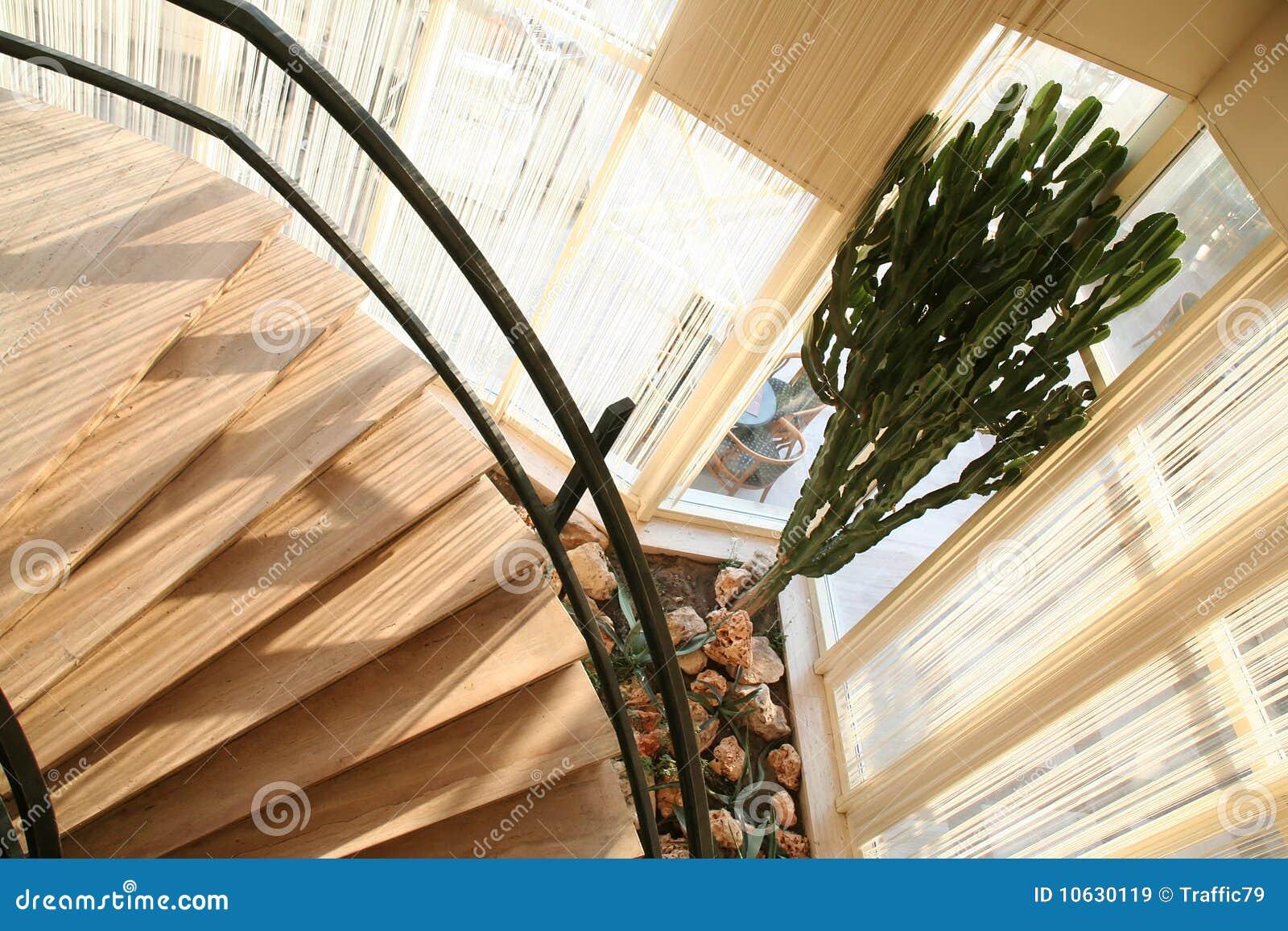 Escadas Redondas No Por Do Sol Imagem De Stock Imagem De Escadas