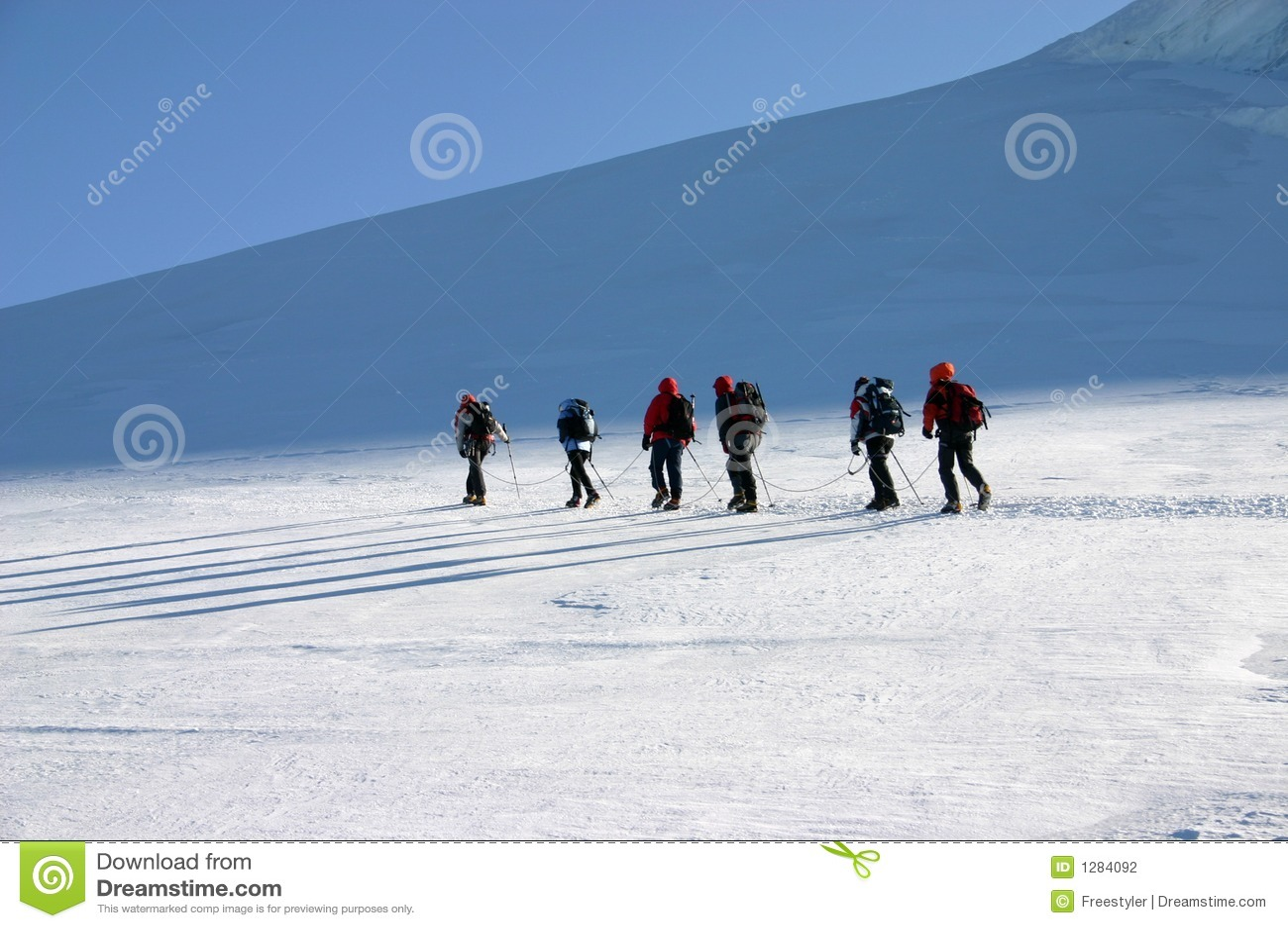 Escaladores de montaña