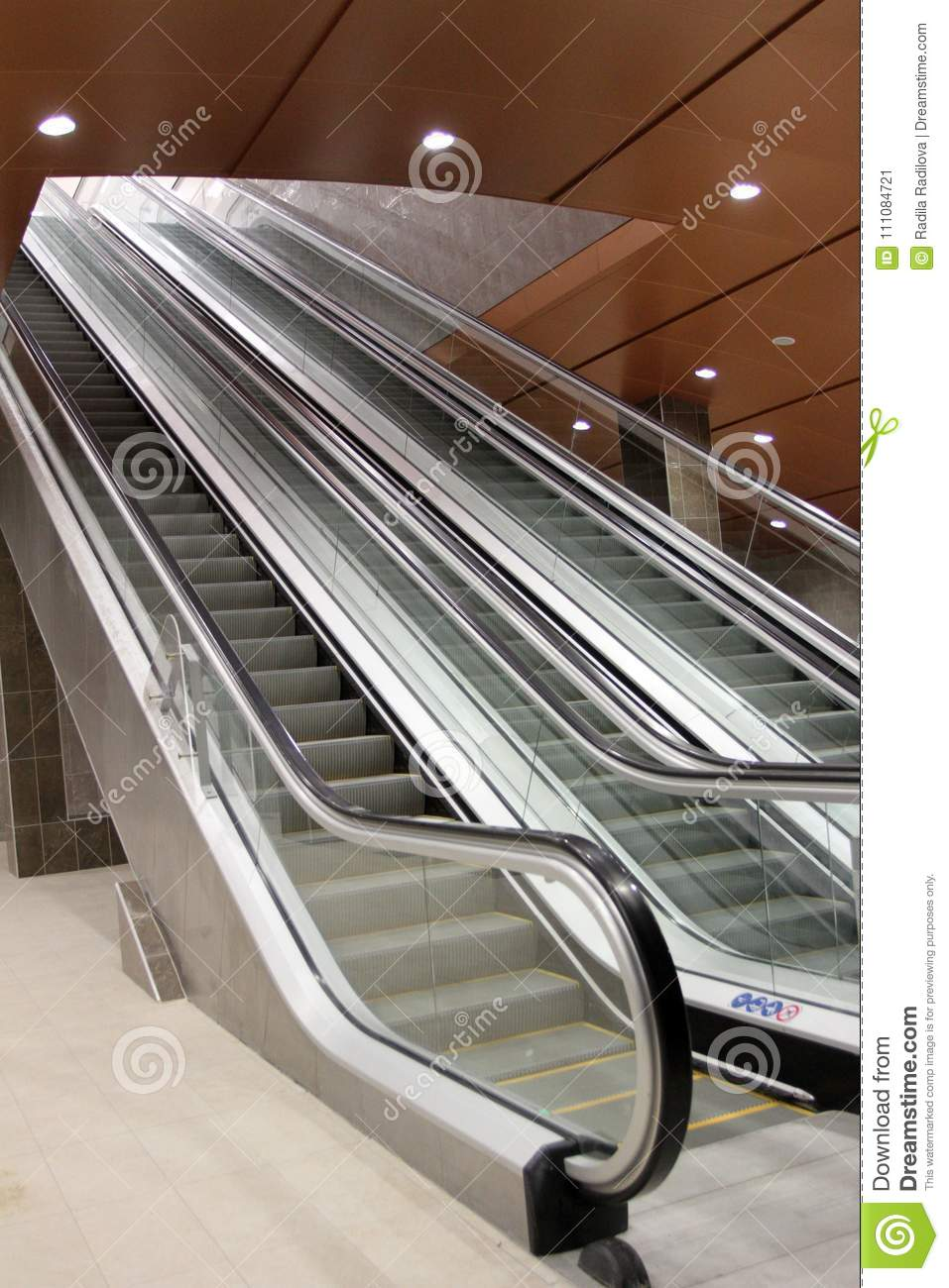 Amazing Download Escalator Or Moving Staircase Stock Image   Image Of Down,  Business: 111084721