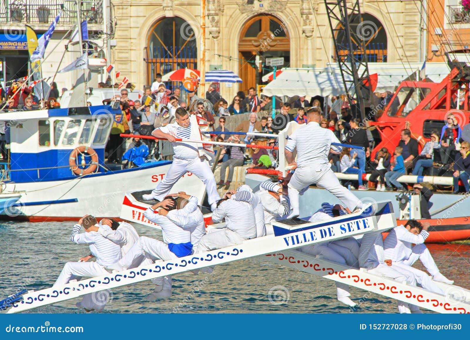 Escale festival maritime de traditions dans de Sete ? ??