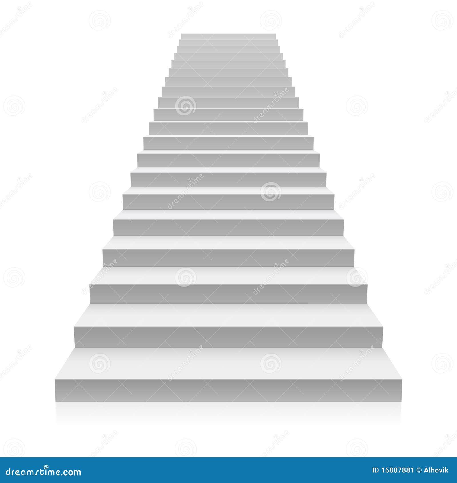 Escalera imagen de archivo imagen 16807881 - Escaleras blancas ...