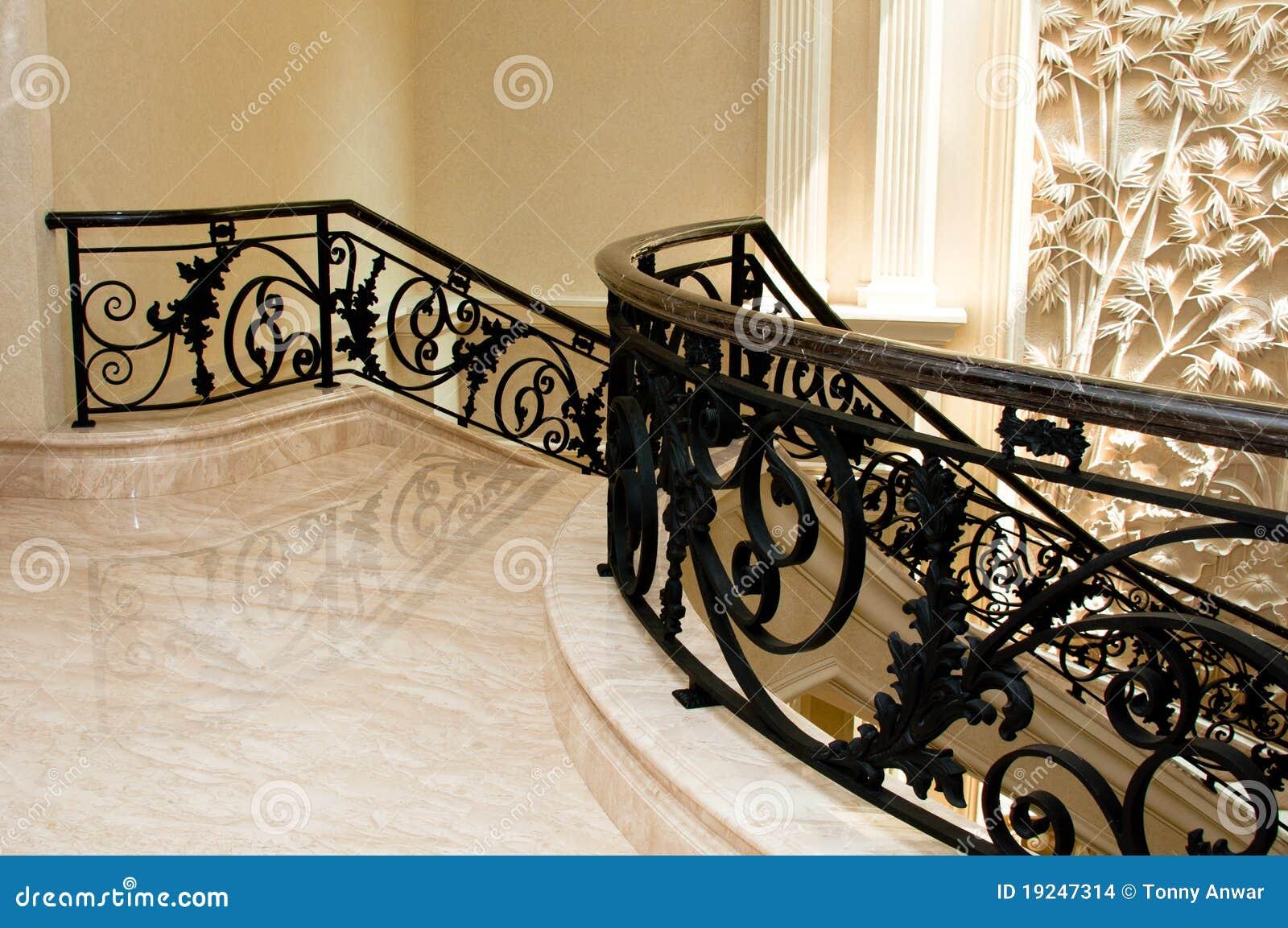 Escaleras Lujosas. Lujoso Residencial Arco Escaleras U Lujoso ...