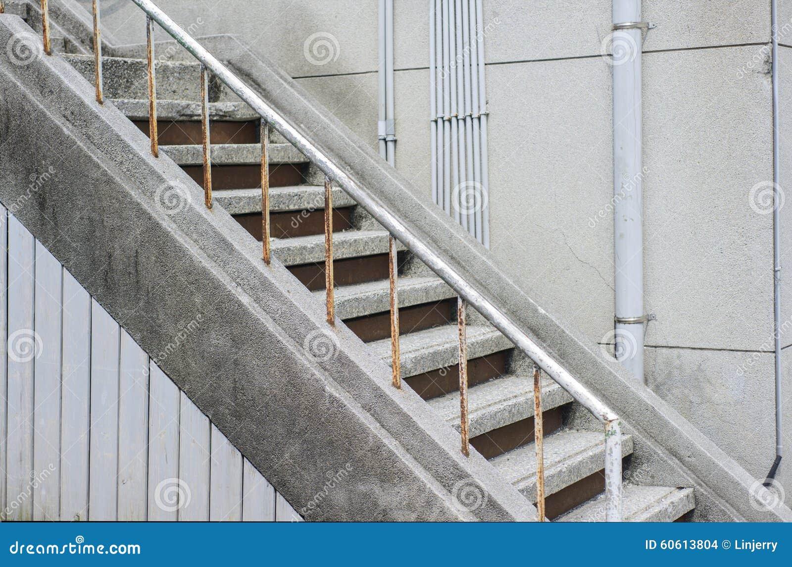 Escalera en un edificio moderno