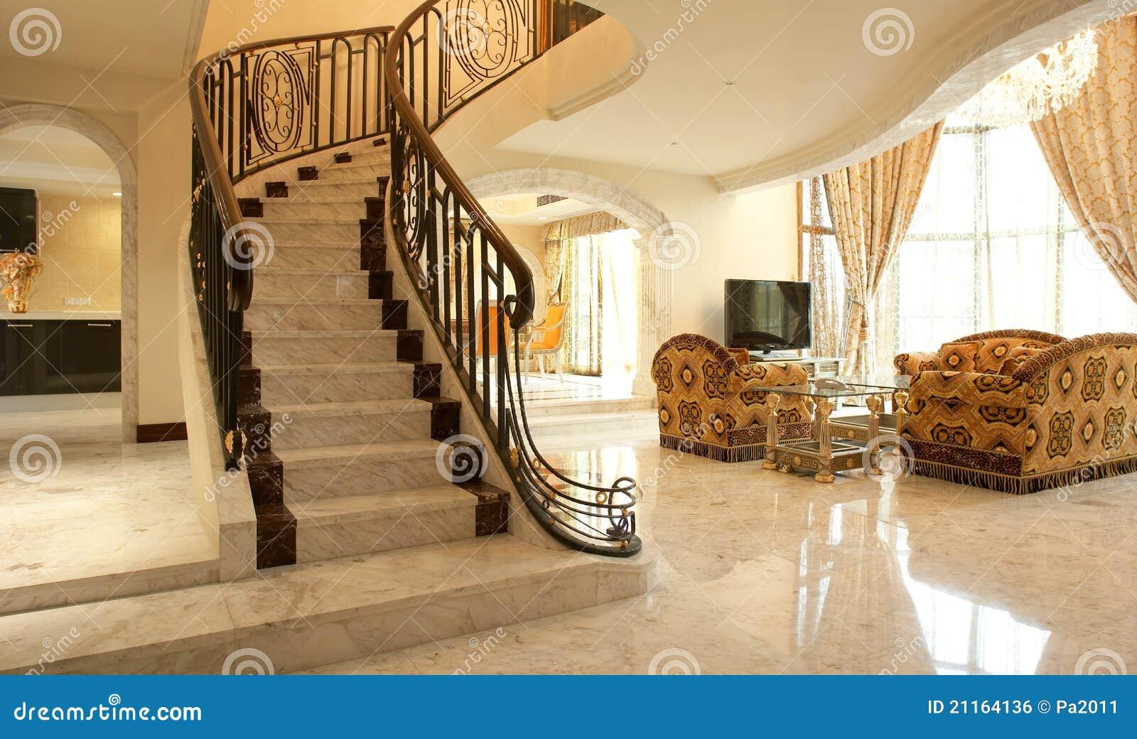 Escalera hermosa foto de archivo imagen de steps for Escaleras de casas de lujo