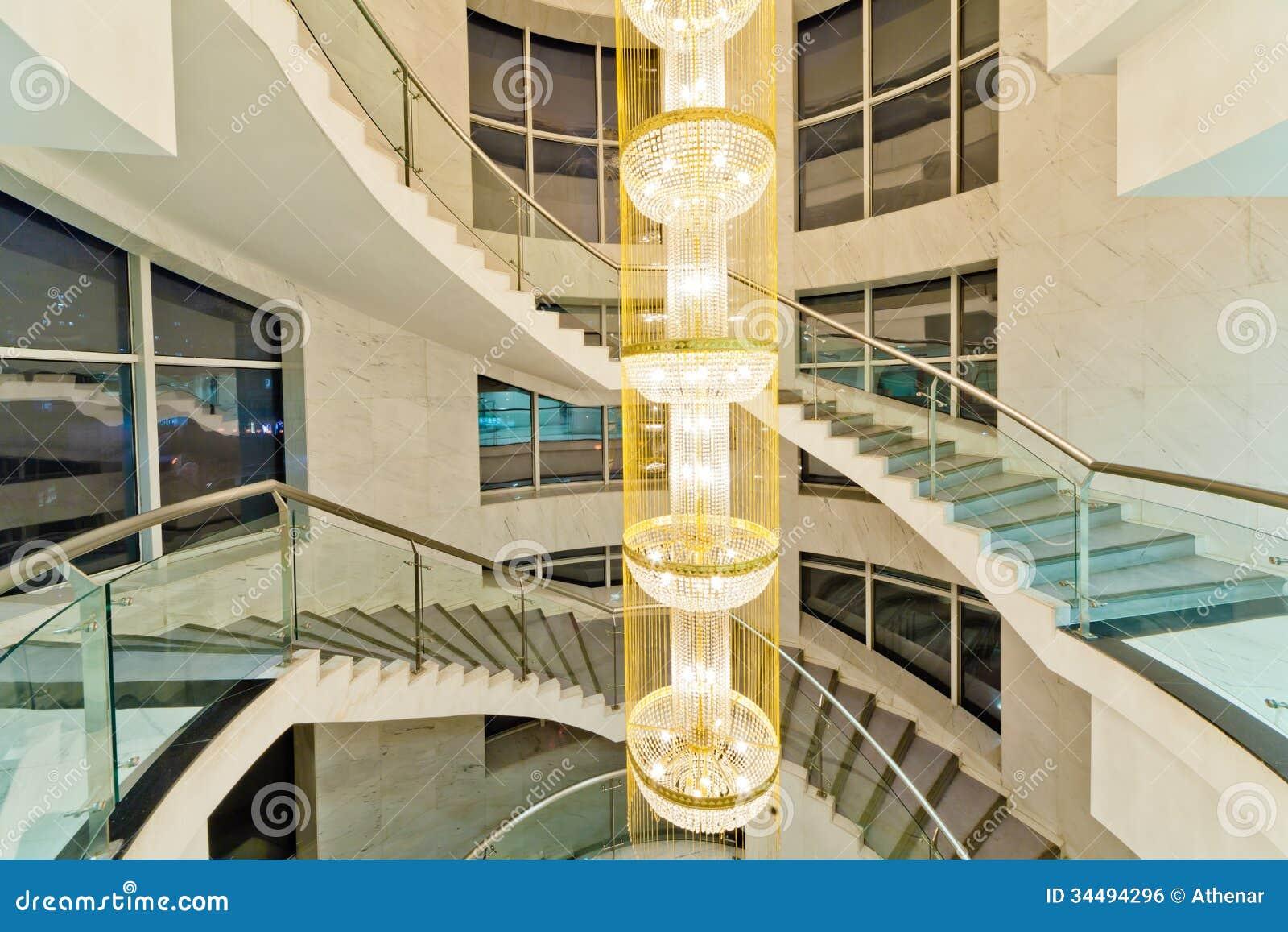 Escaleras de lujo imagen de archivo libre de regal as - Escaleras de casas de lujo ...