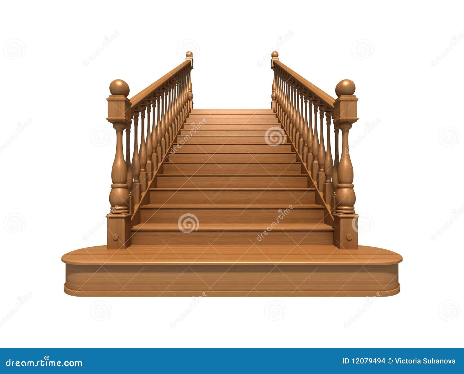 Escaleras de madera imagenes de archivo imagen 12079494 for Imagenes de escaleras de madera