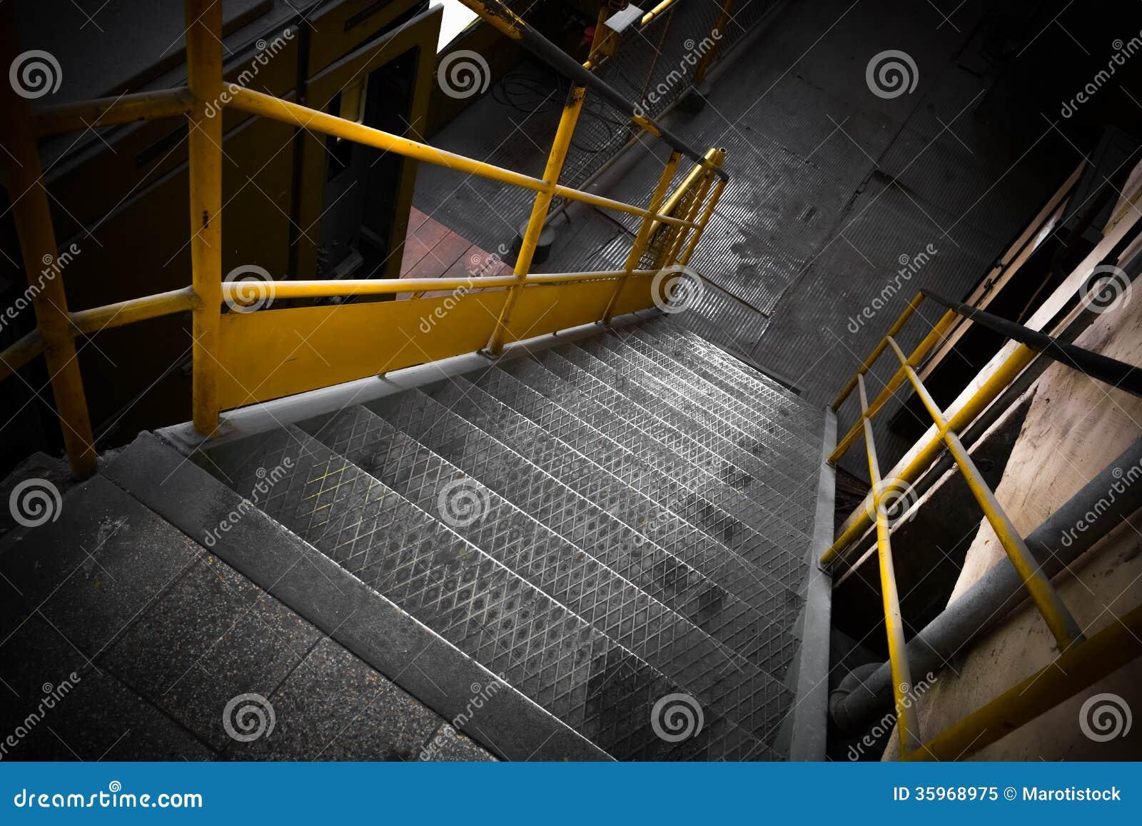 Escaleras del hierro