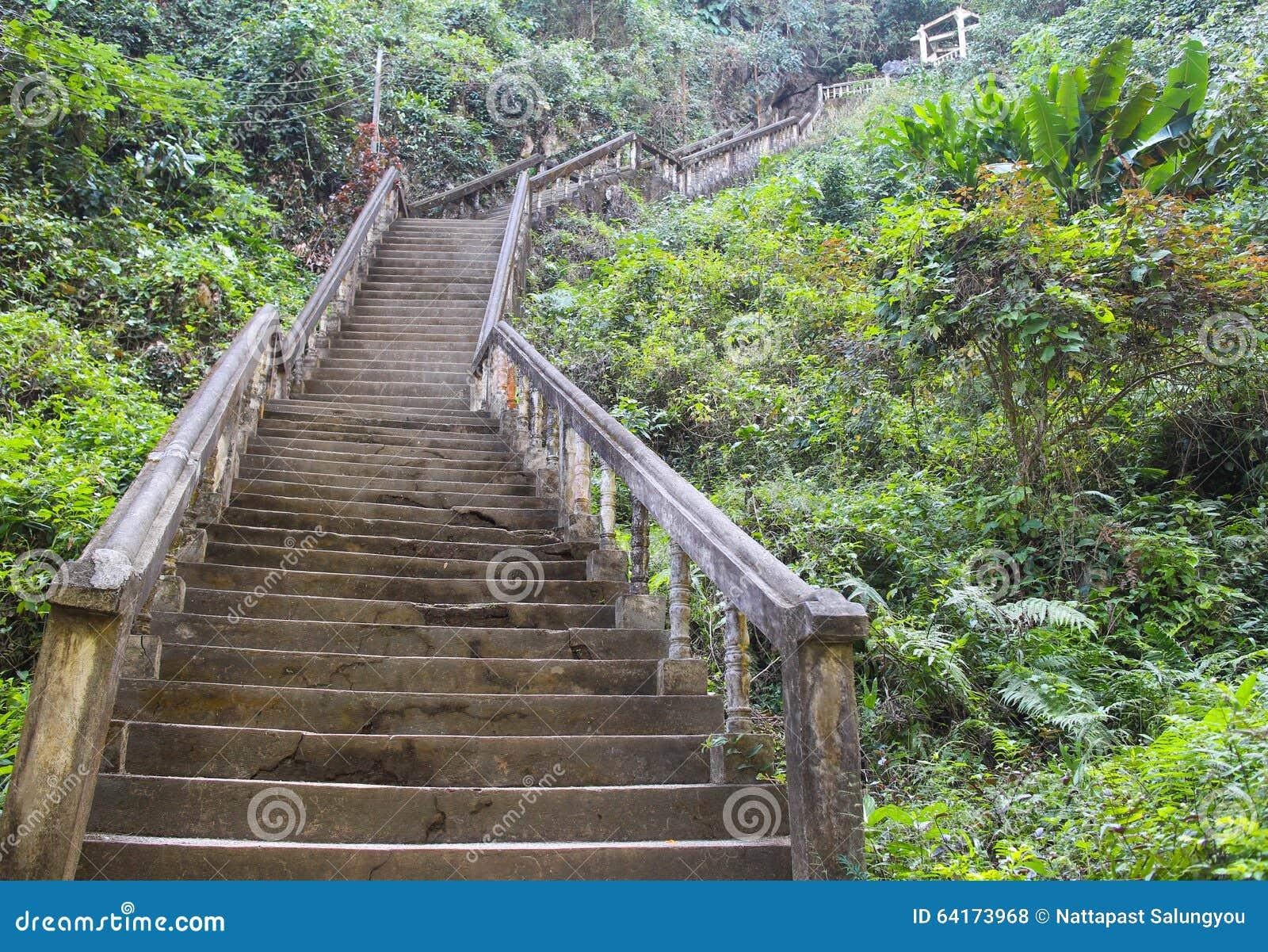 Escaleras para arriba