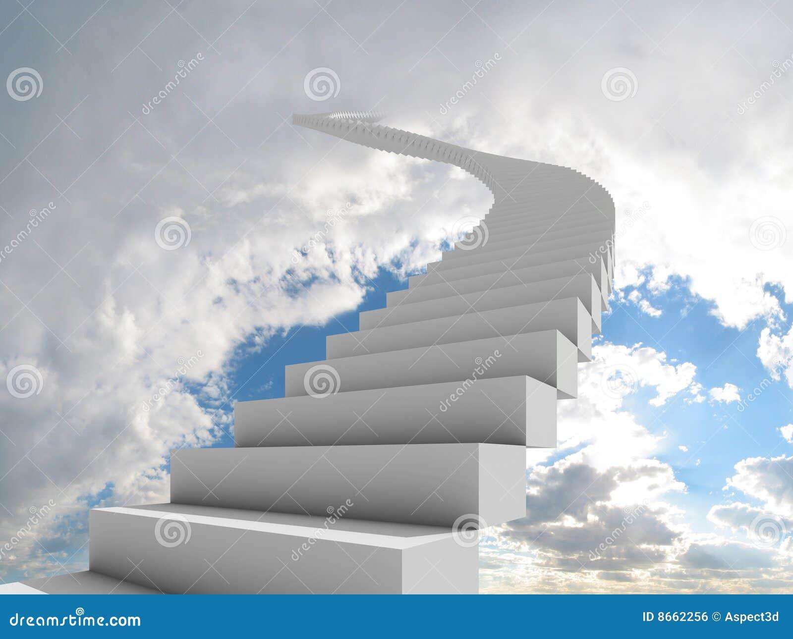 Escalier de ciel à