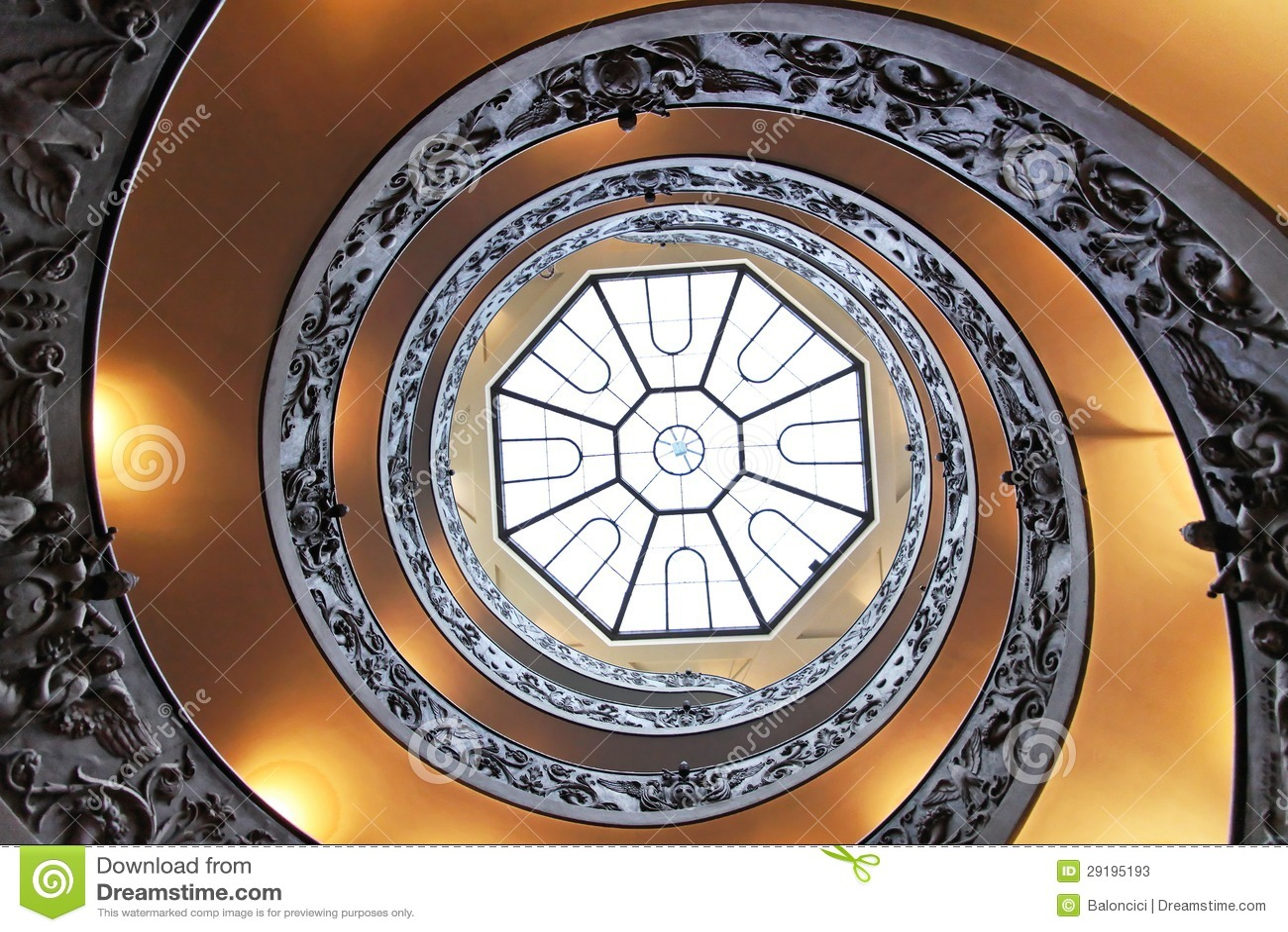 Escalier de double helice