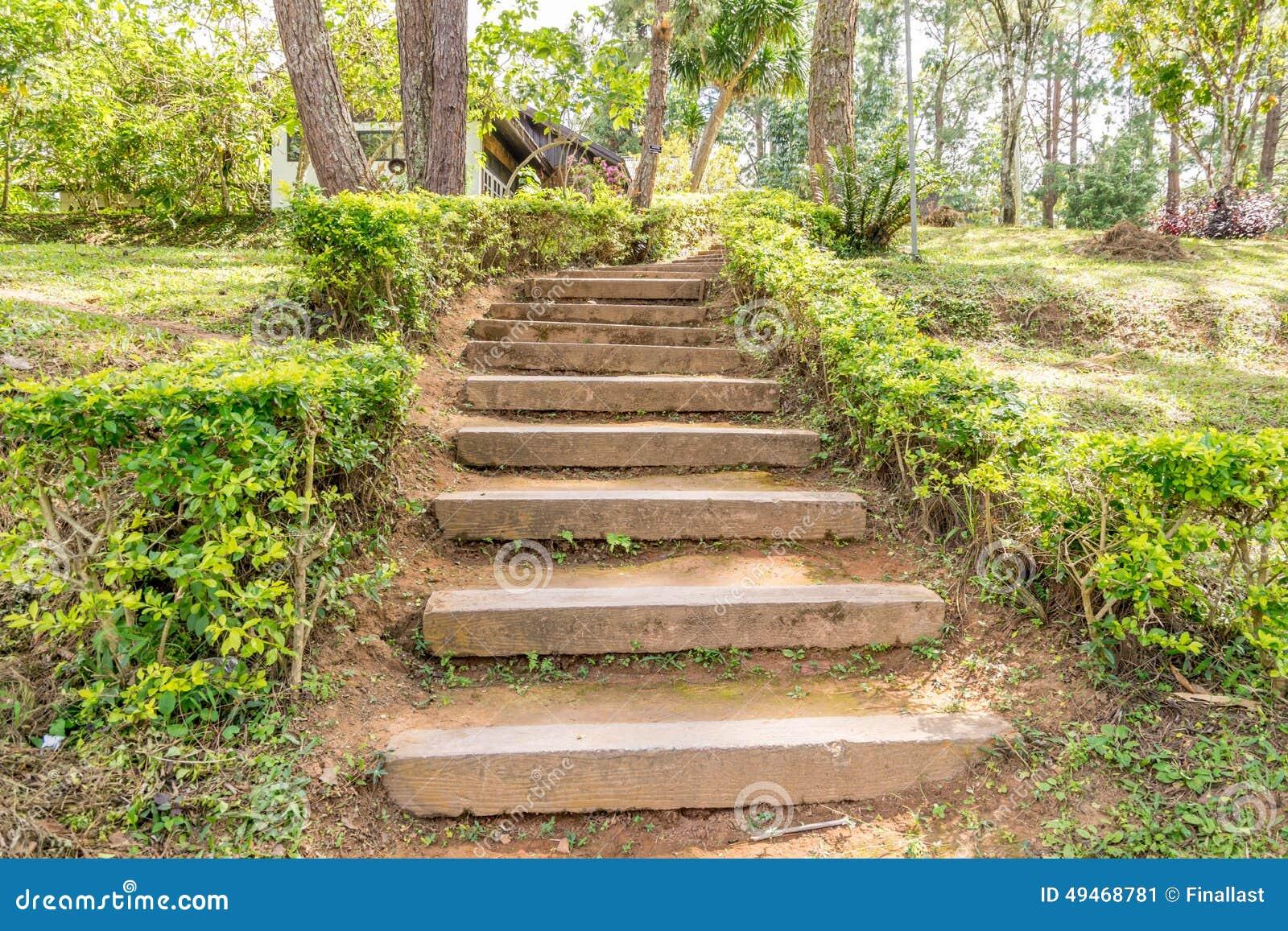 Escalier De La Terre Ou D Argile