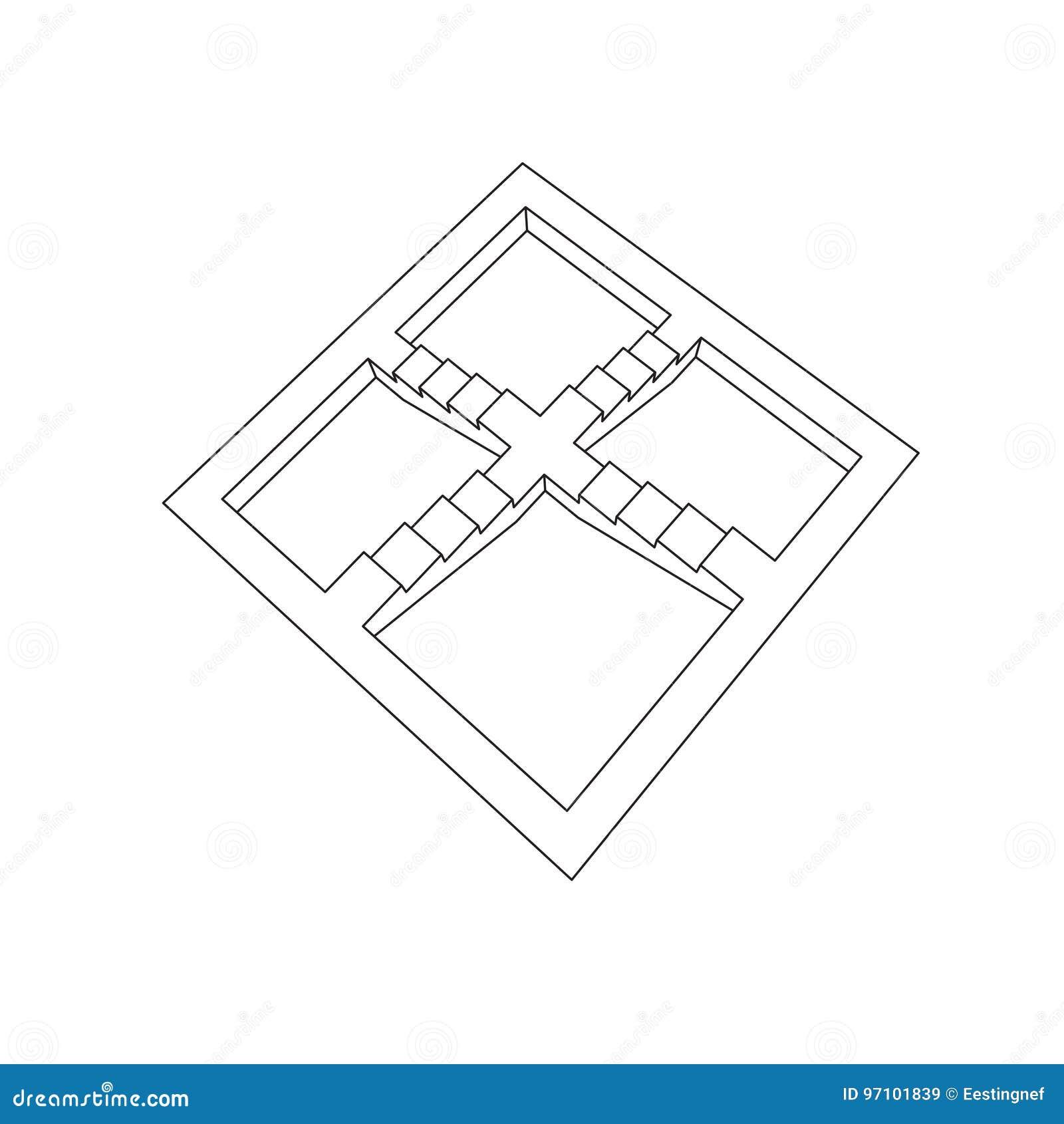 illusion d optique escalier illusion optique escalier dedans illusion d optique escalier. Black Bedroom Furniture Sets. Home Design Ideas