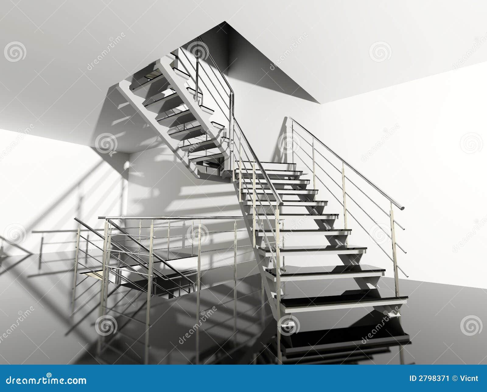 Escalier moderne image stock image 2798371 - Escalier moderne prix ...