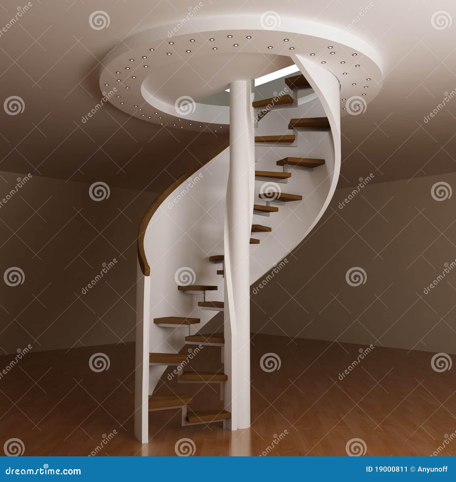 escalier rond image stock image 19000811. Black Bedroom Furniture Sets. Home Design Ideas